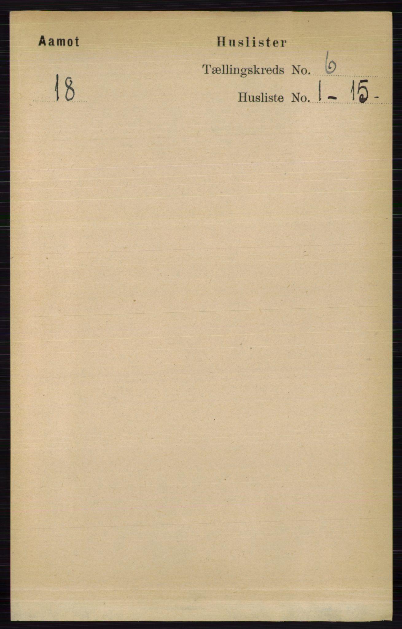 RA, Folketelling 1891 for 0429 Åmot herred, 1891, s. 2737