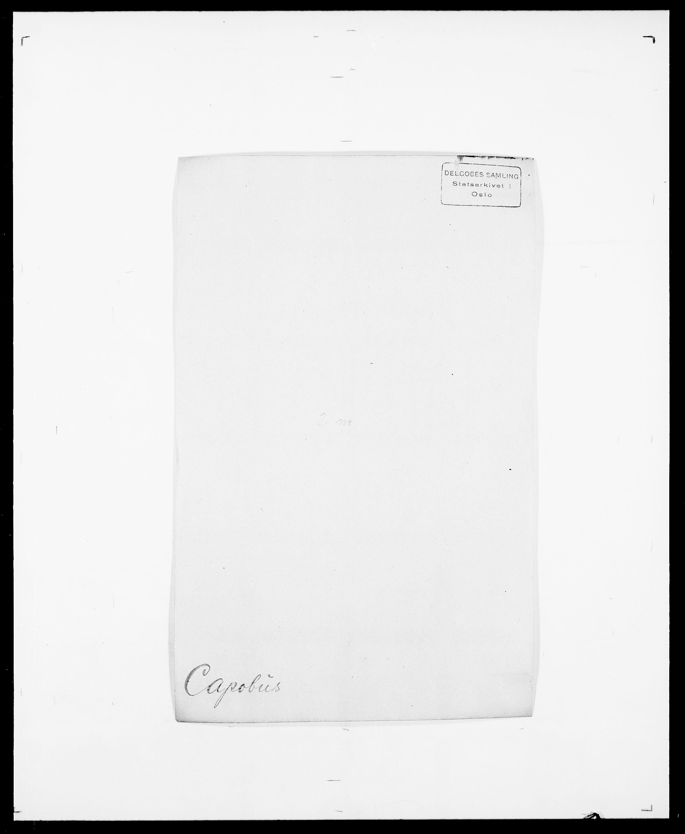 SAO, Delgobe, Charles Antoine - samling, D/Da/L0008: Capjon - Dagenbolt, s. 4