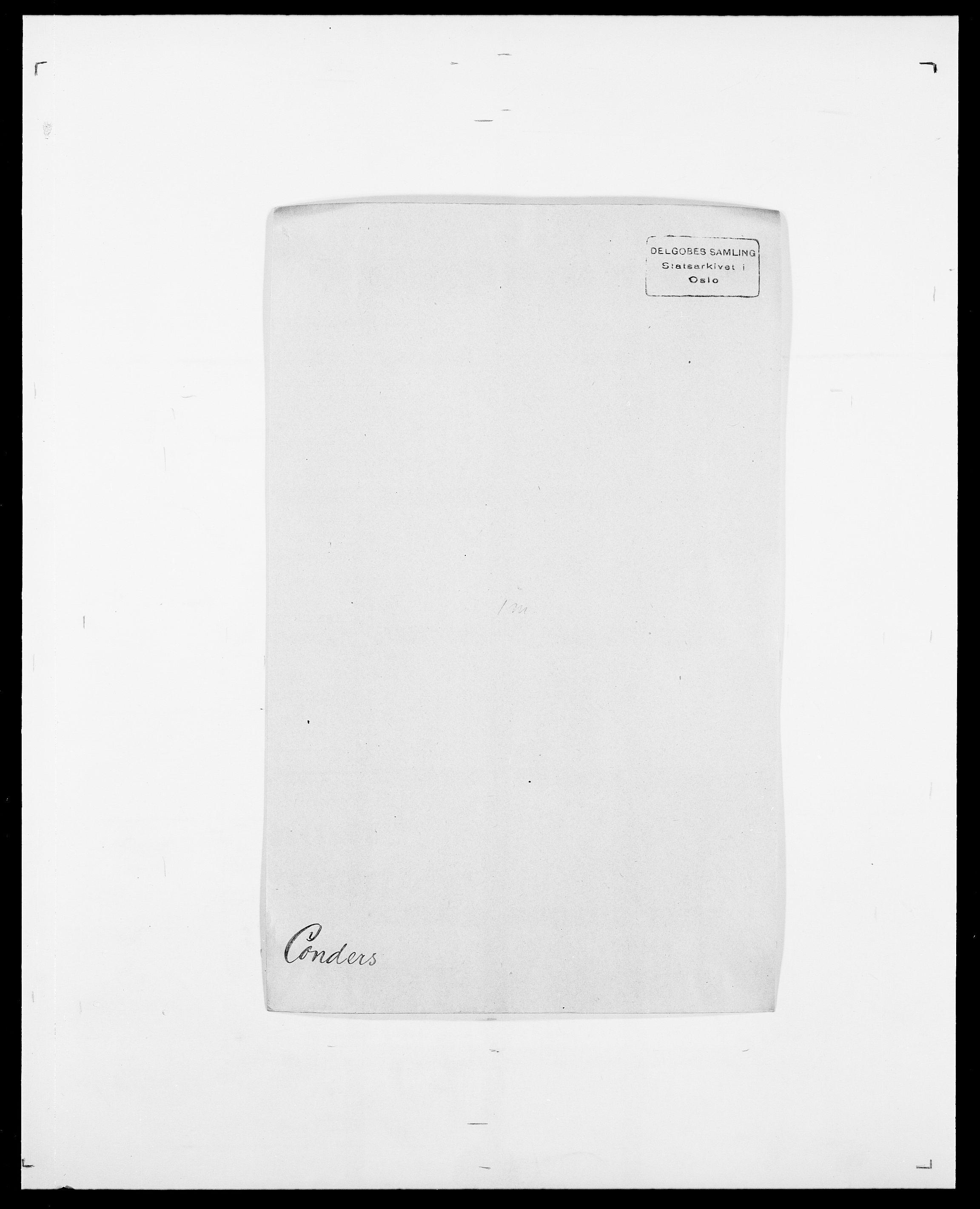 SAO, Delgobe, Charles Antoine - samling, D/Da/L0008: Capjon - Dagenbolt, s. 494