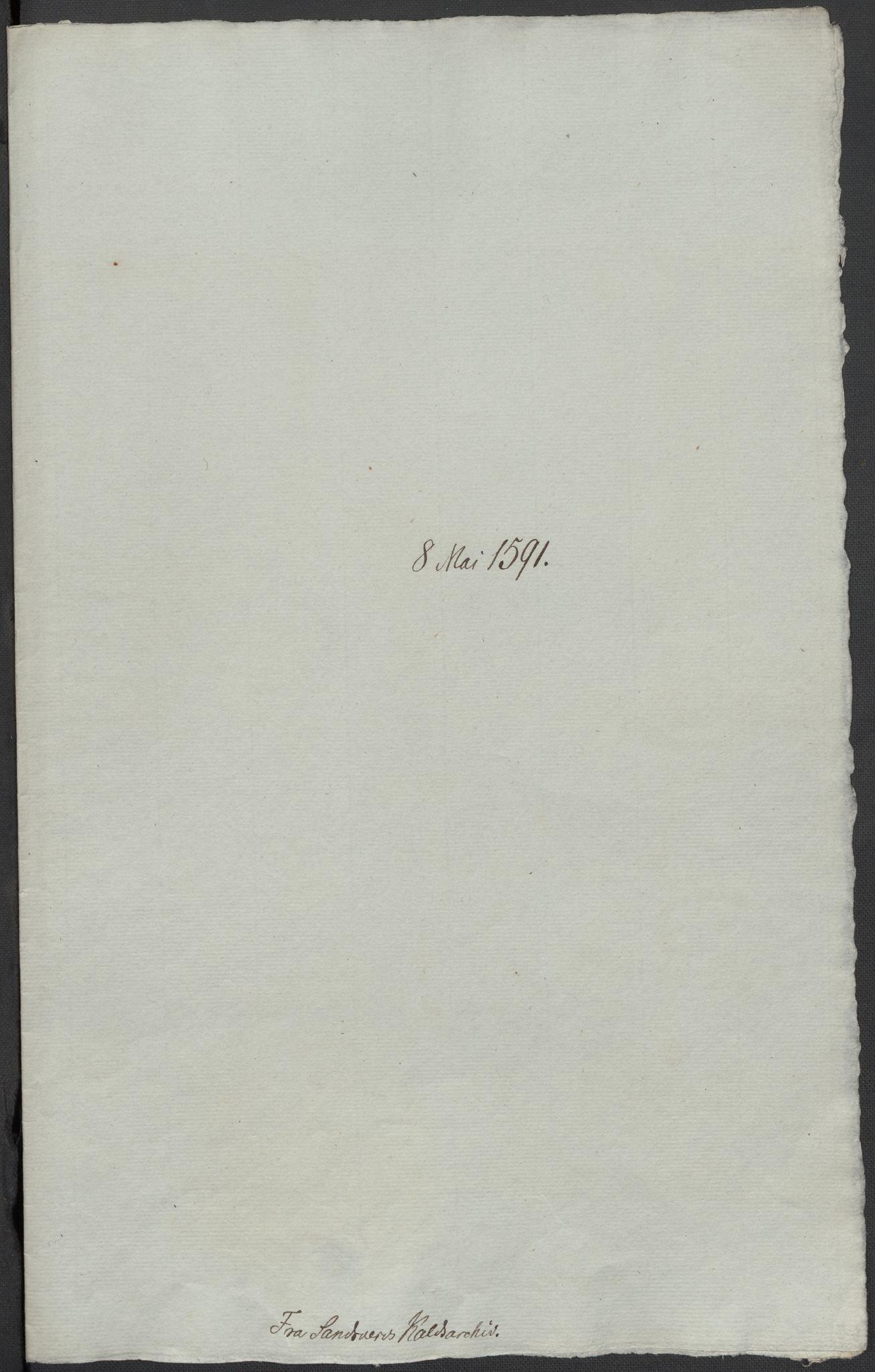RA, Riksarkivets diplomsamling, F02/L0093: Dokumenter, 1591, s. 76