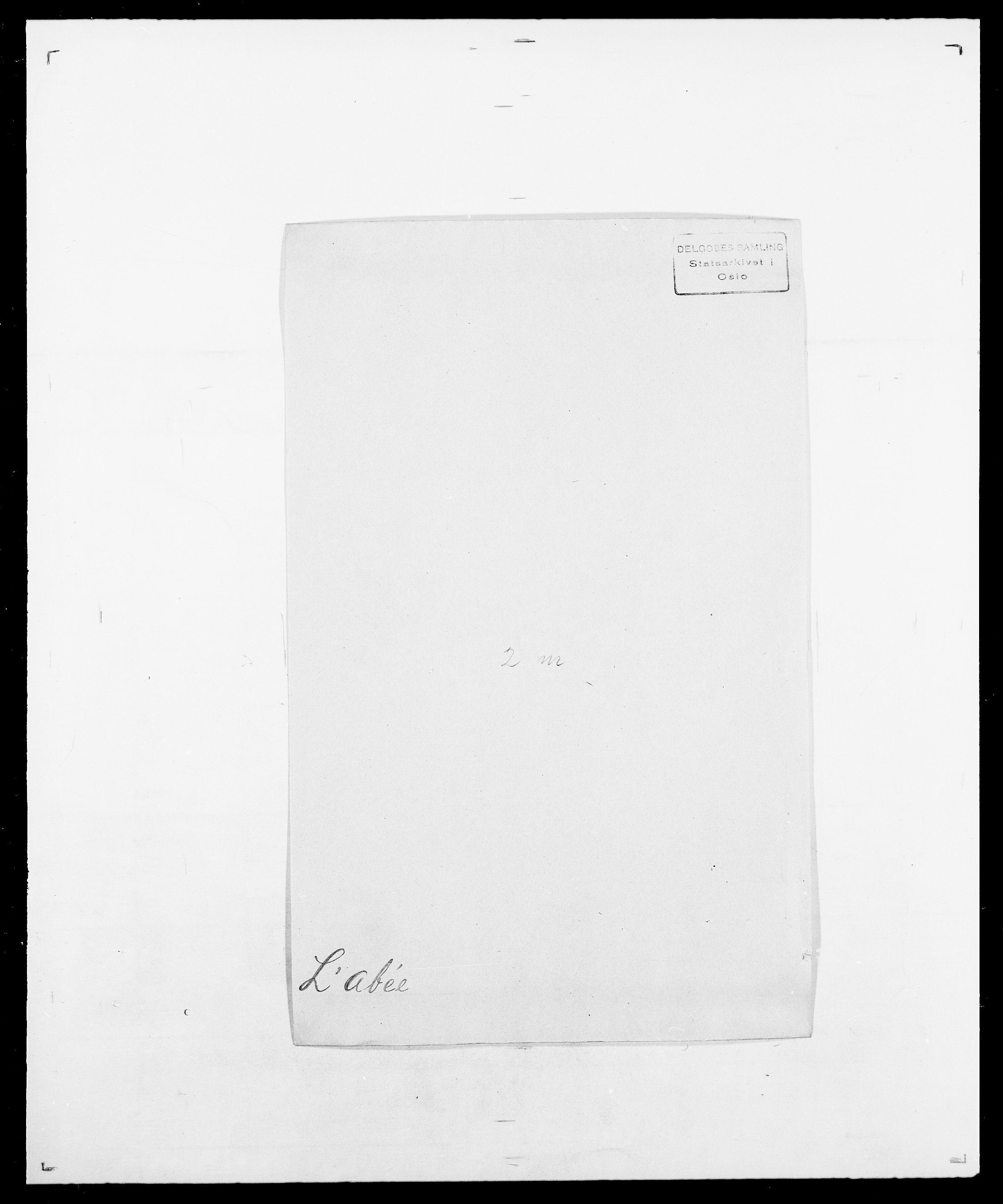 SAO, Delgobe, Charles Antoine - samling, D/Da/L0022: Krog - Lasteen, s. 358
