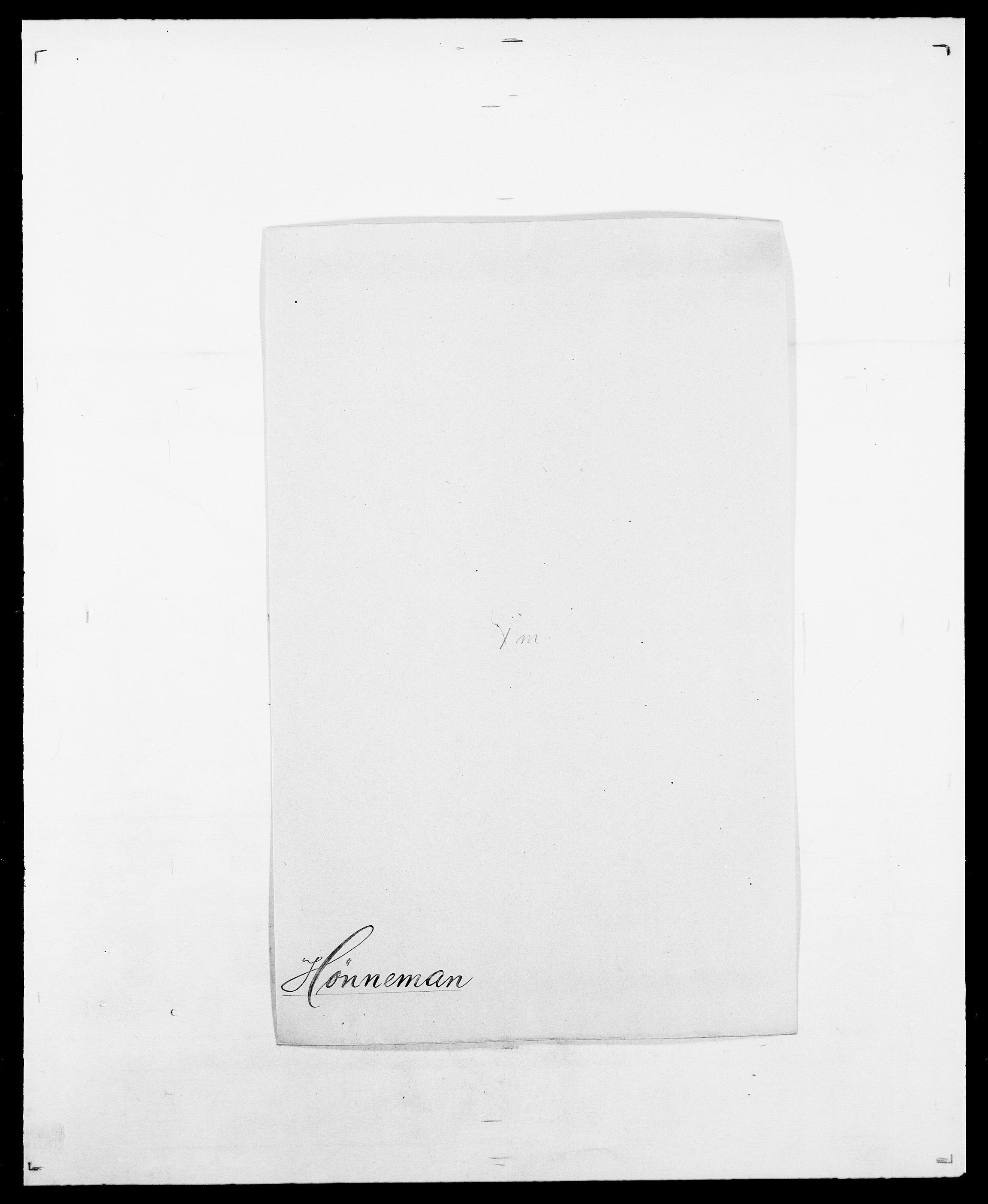 SAO, Delgobe, Charles Antoine - samling, D/Da/L0019: van der Hude - Joys, s. 369