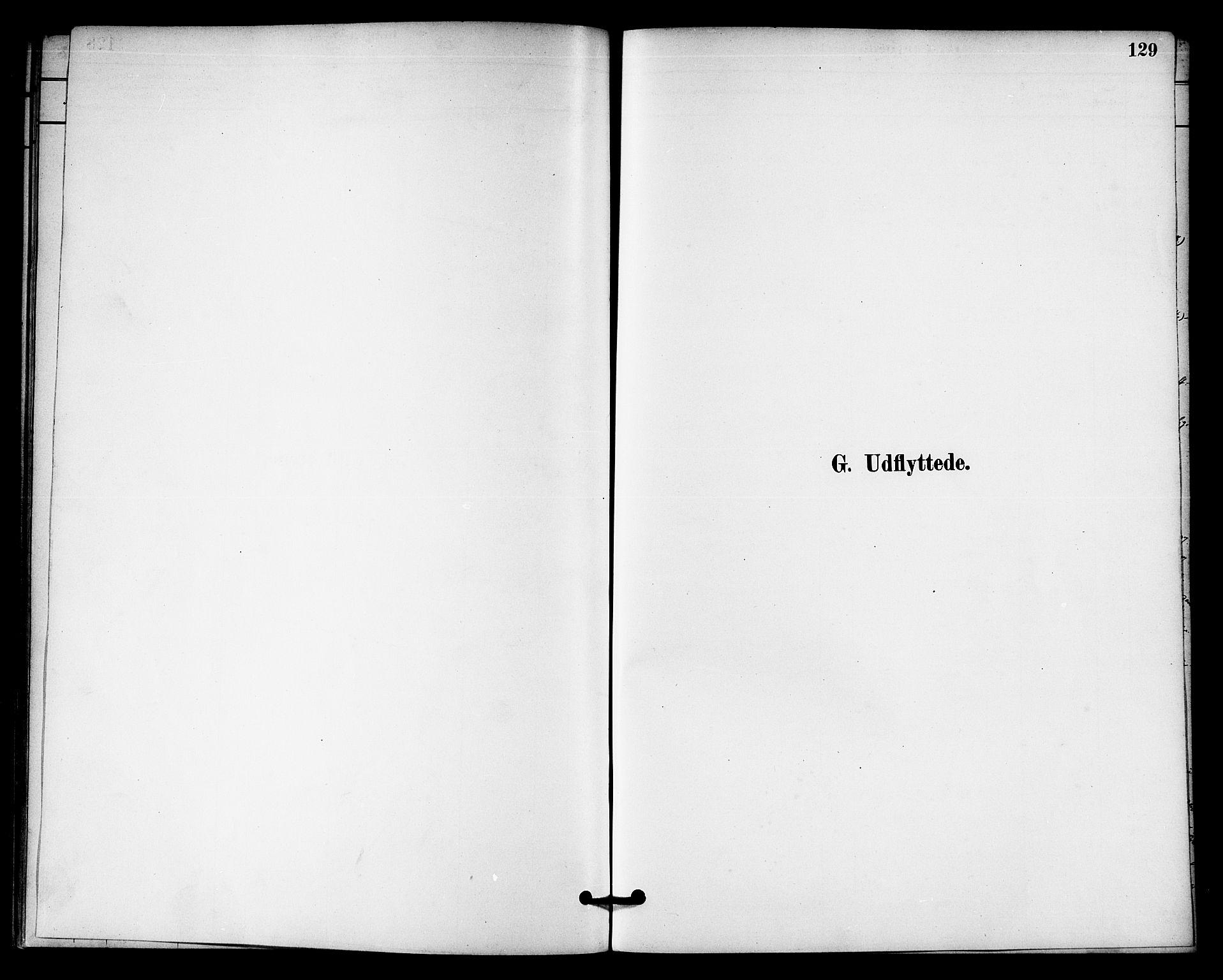 SAT, Ministerialprotokoller, klokkerbøker og fødselsregistre - Nord-Trøndelag, 740/L0378: Ministerialbok nr. 740A01, 1881-1895, s. 129