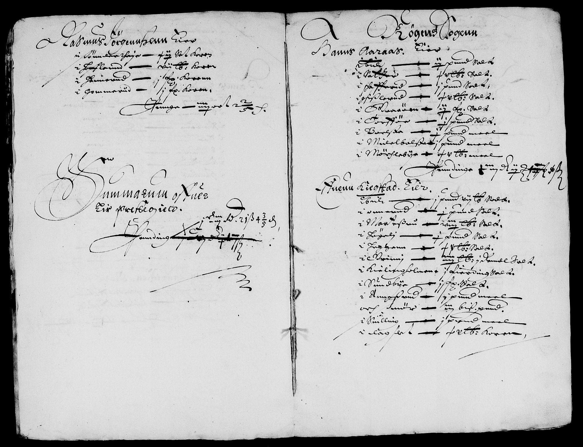 RA, Rentekammeret inntil 1814, Reviderte regnskaper, Lensregnskaper, R/Rb/Rba/L0166: Akershus len, 1642