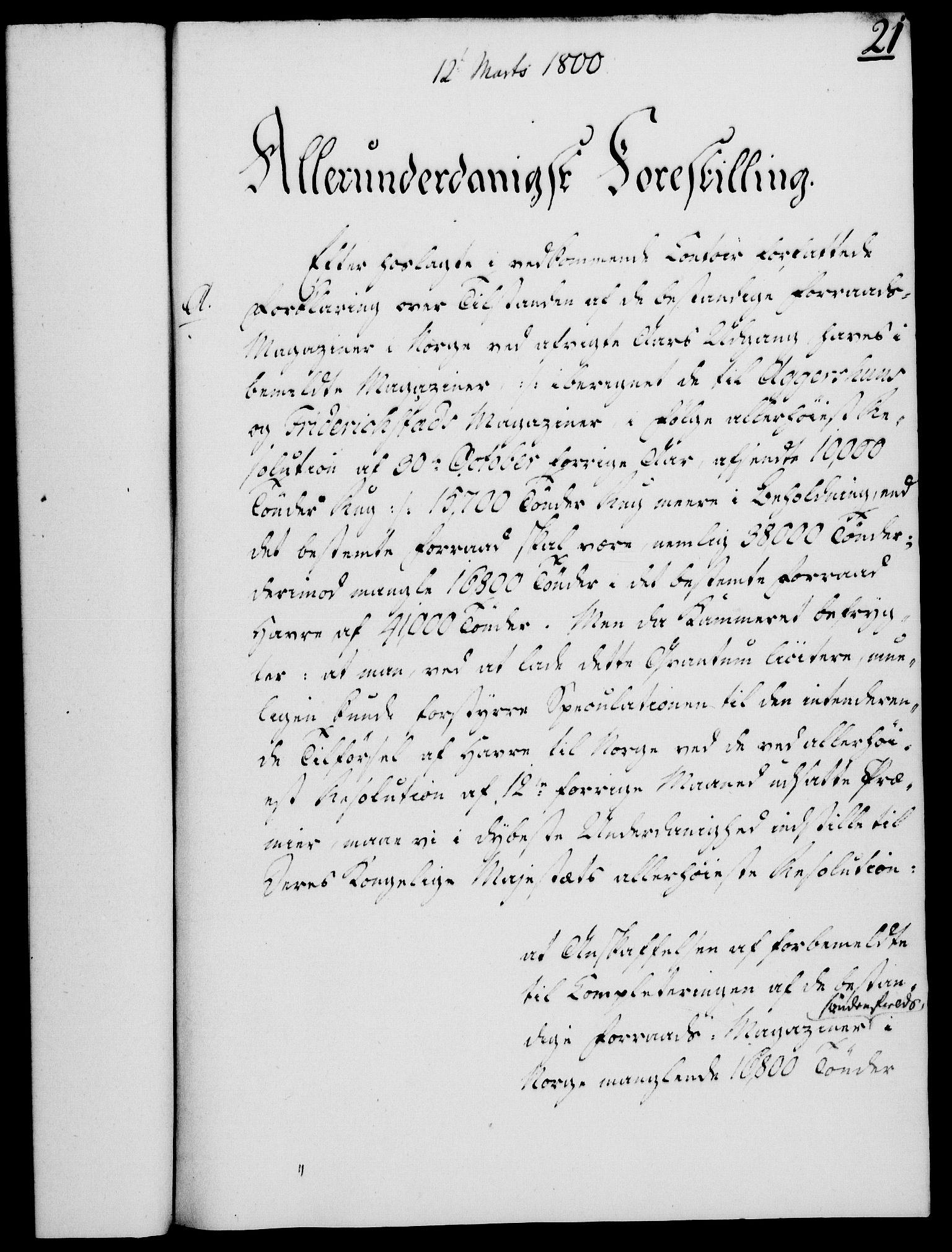 RA, Rentekammeret, Kammerkanselliet, G/Gf/Gfa/L0082: Norsk relasjons- og resolusjonsprotokoll (merket RK 52.82), 1800, s. 144