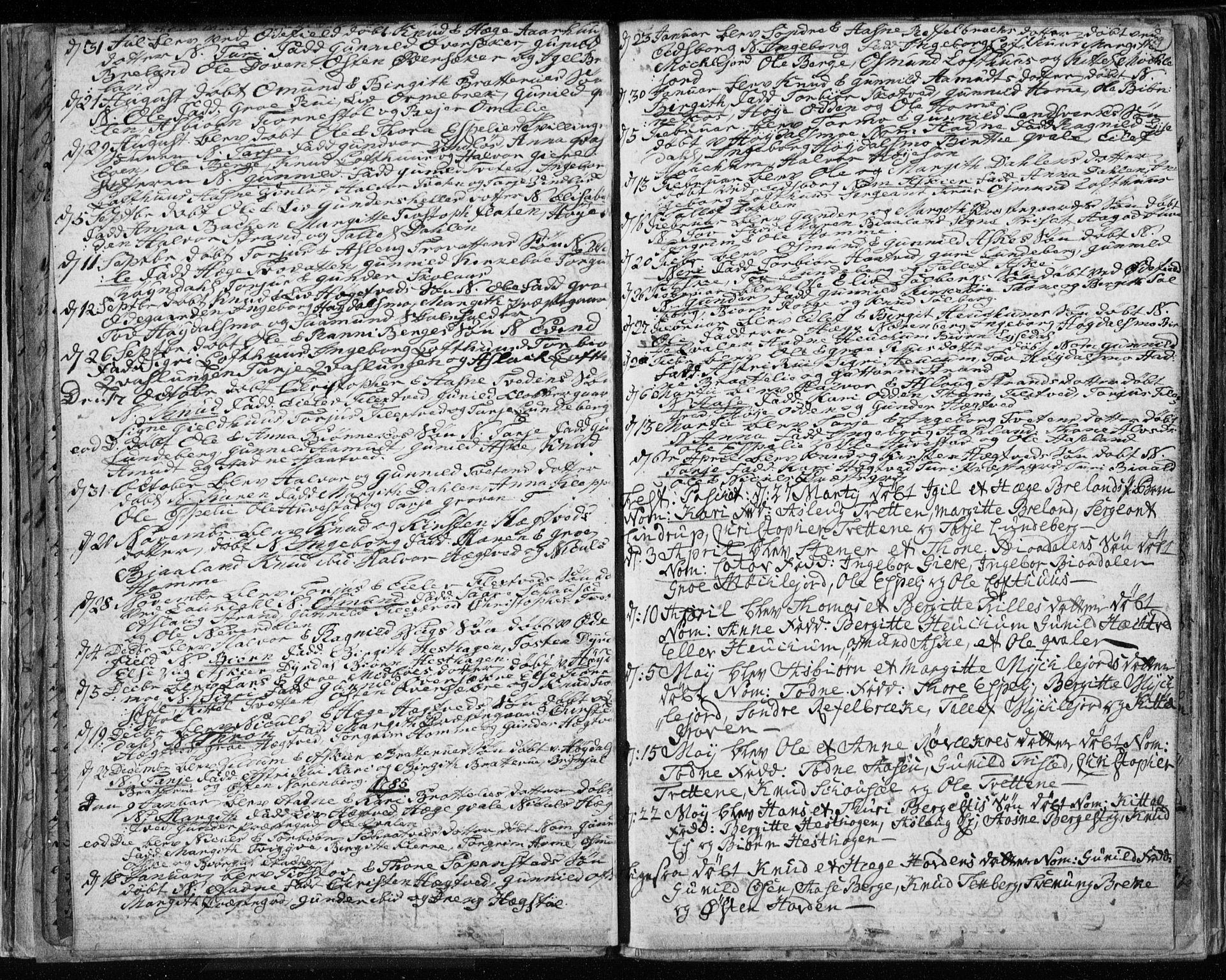 SAKO, Lårdal kirkebøker, F/Fa/L0003: Ministerialbok nr. I 3, 1754-1790, s. 29