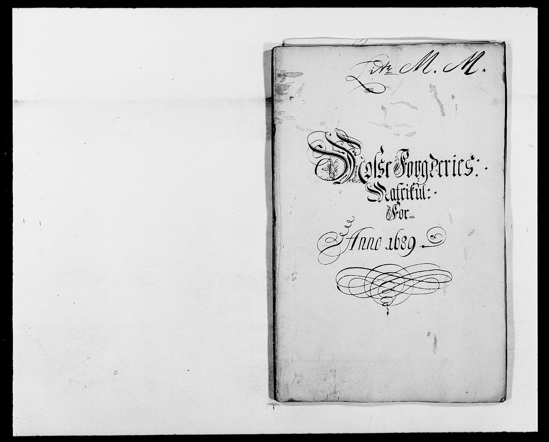 RA, Rentekammeret inntil 1814, Reviderte regnskaper, Fogderegnskap, R02/L0106: Fogderegnskap Moss og Verne kloster, 1688-1691, s. 209