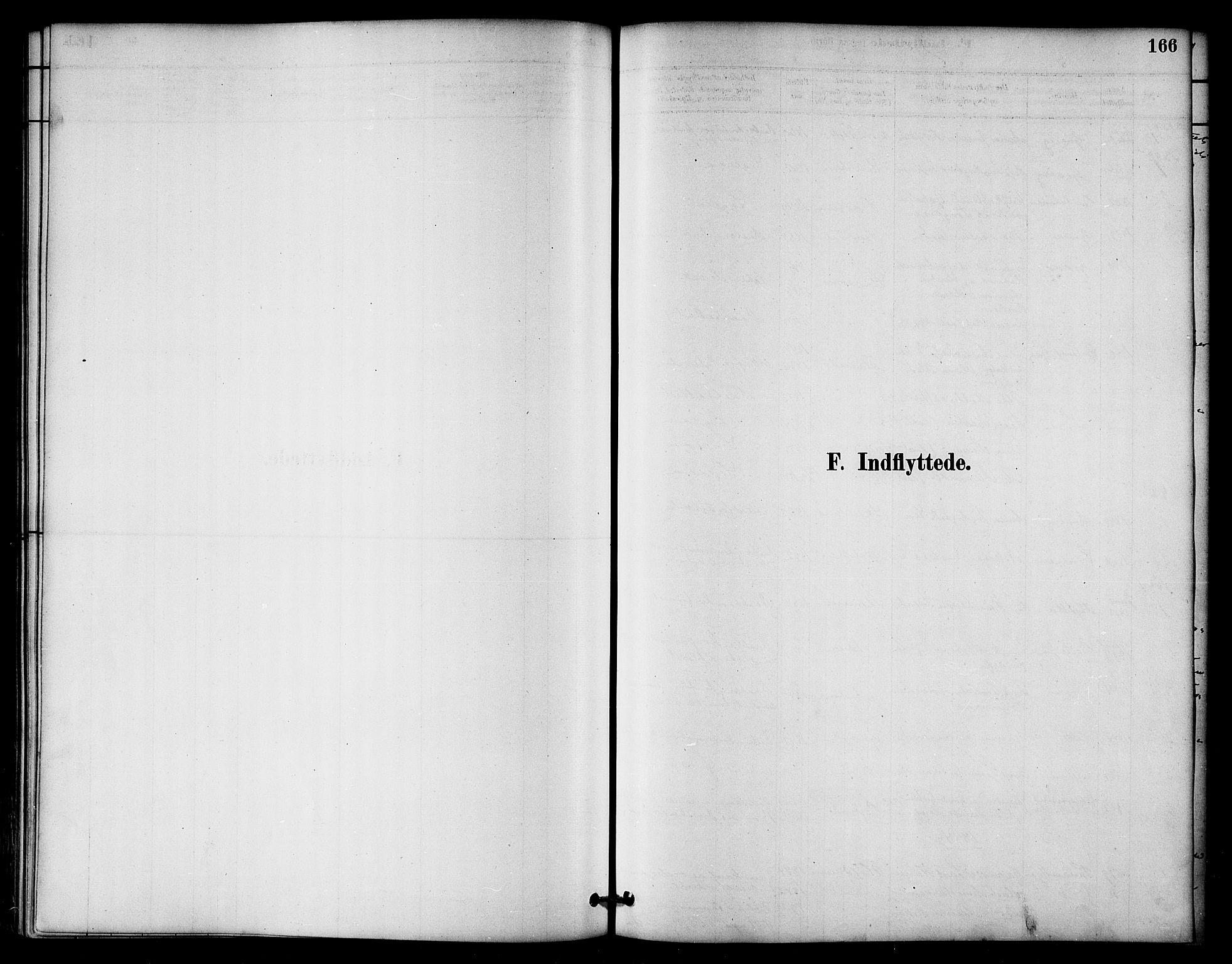 SAT, Ministerialprotokoller, klokkerbøker og fødselsregistre - Nord-Trøndelag, 764/L0555: Ministerialbok nr. 764A10, 1881-1896, s. 166