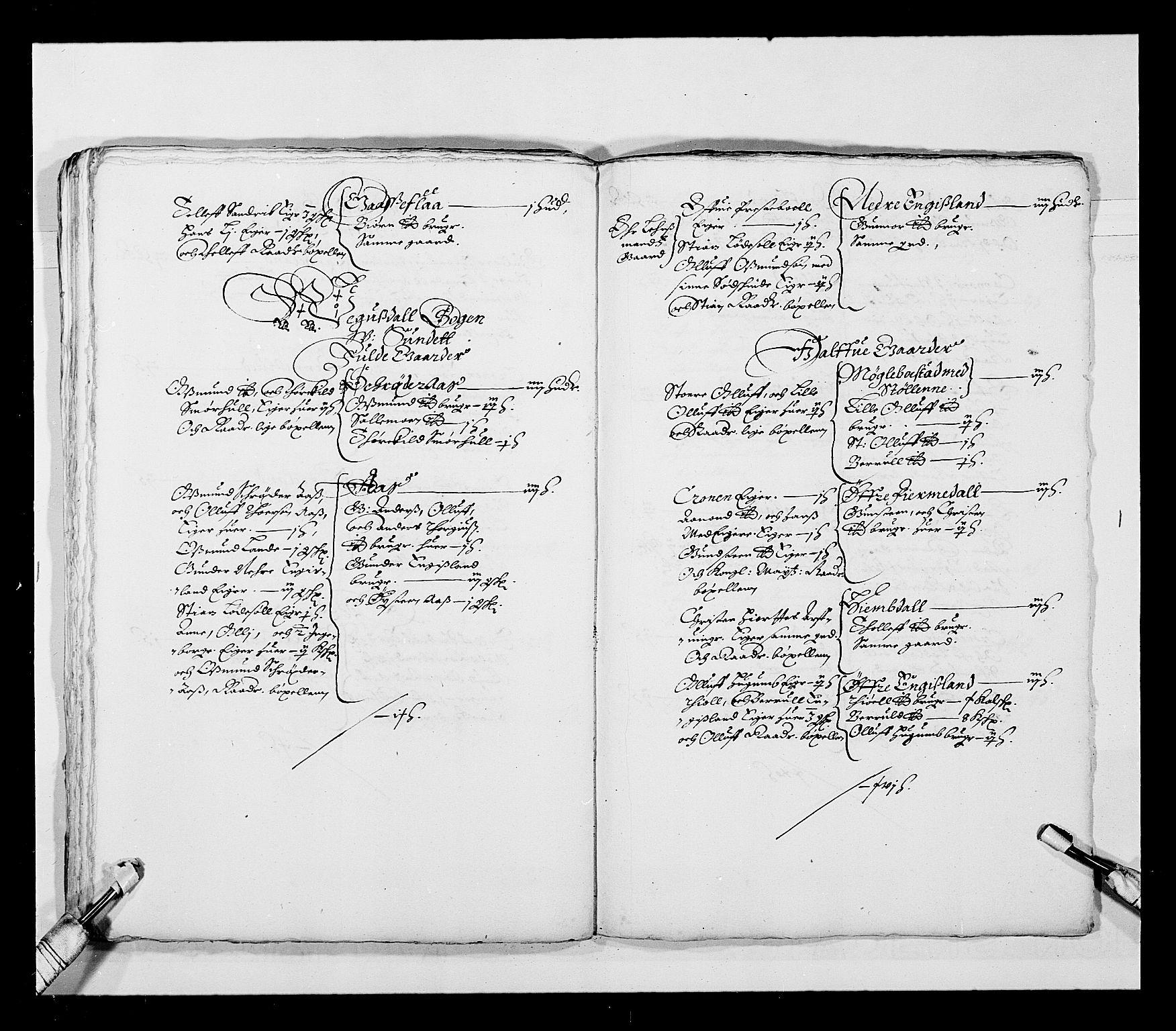 RA, Stattholderembetet 1572-1771, Ek/L0023: Jordebøker 1633-1658:, 1648-1649, s. 43