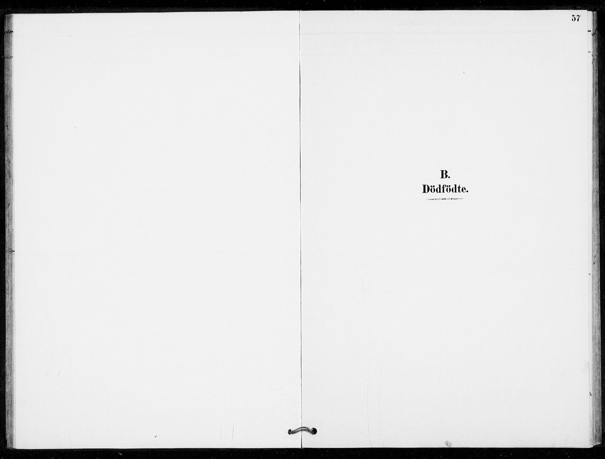 SAKO, Nore kirkebøker, G/Gc/L0003: Klokkerbok nr. III 3, 1881-1941, s. 57