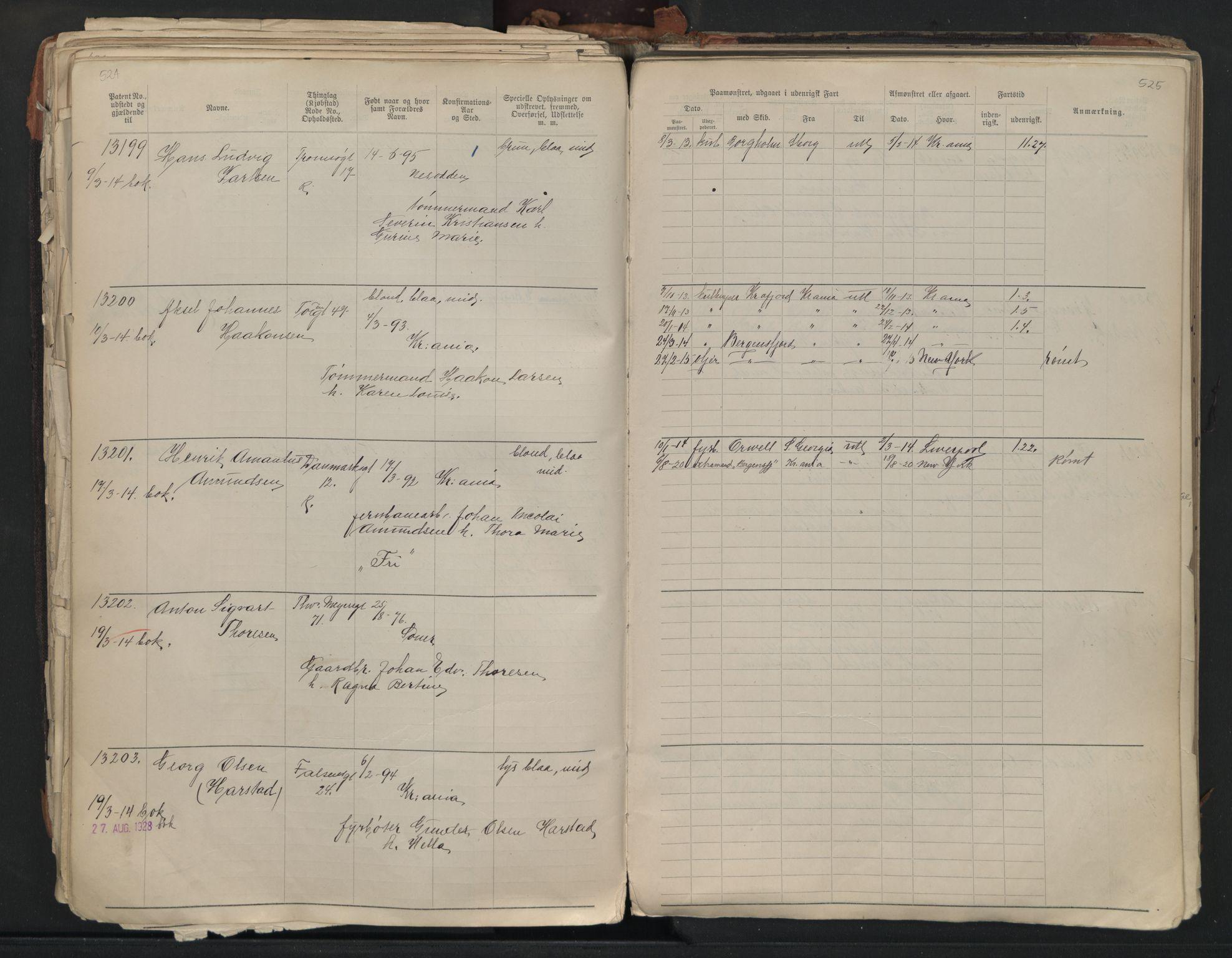 SAO, Oslo sjømannskontor, F/Fb/L0001: Annotasjonsrulle, 1908-1938, s. 524-525