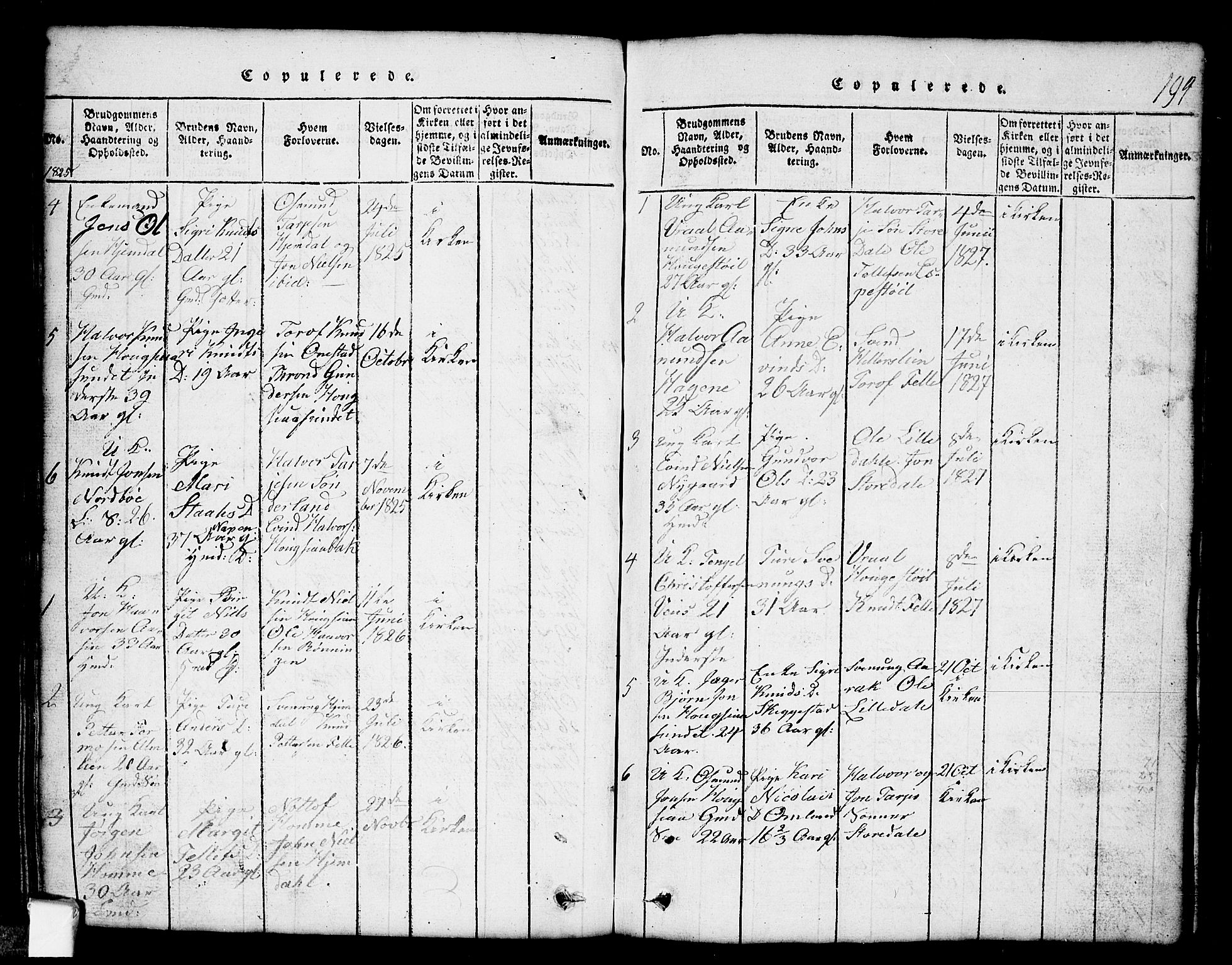 SAKO, Nissedal kirkebøker, G/Gb/L0001: Klokkerbok nr. II 1, 1814-1862, s. 194