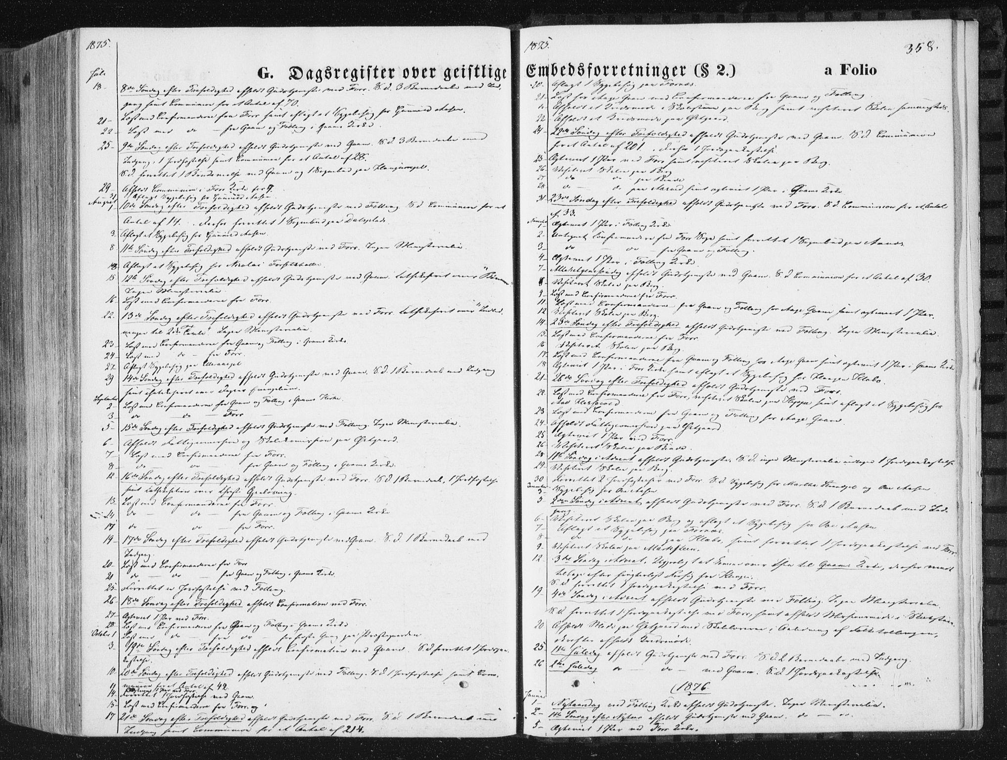 SAT, Ministerialprotokoller, klokkerbøker og fødselsregistre - Nord-Trøndelag, 746/L0447: Ministerialbok nr. 746A06, 1860-1877, s. 358