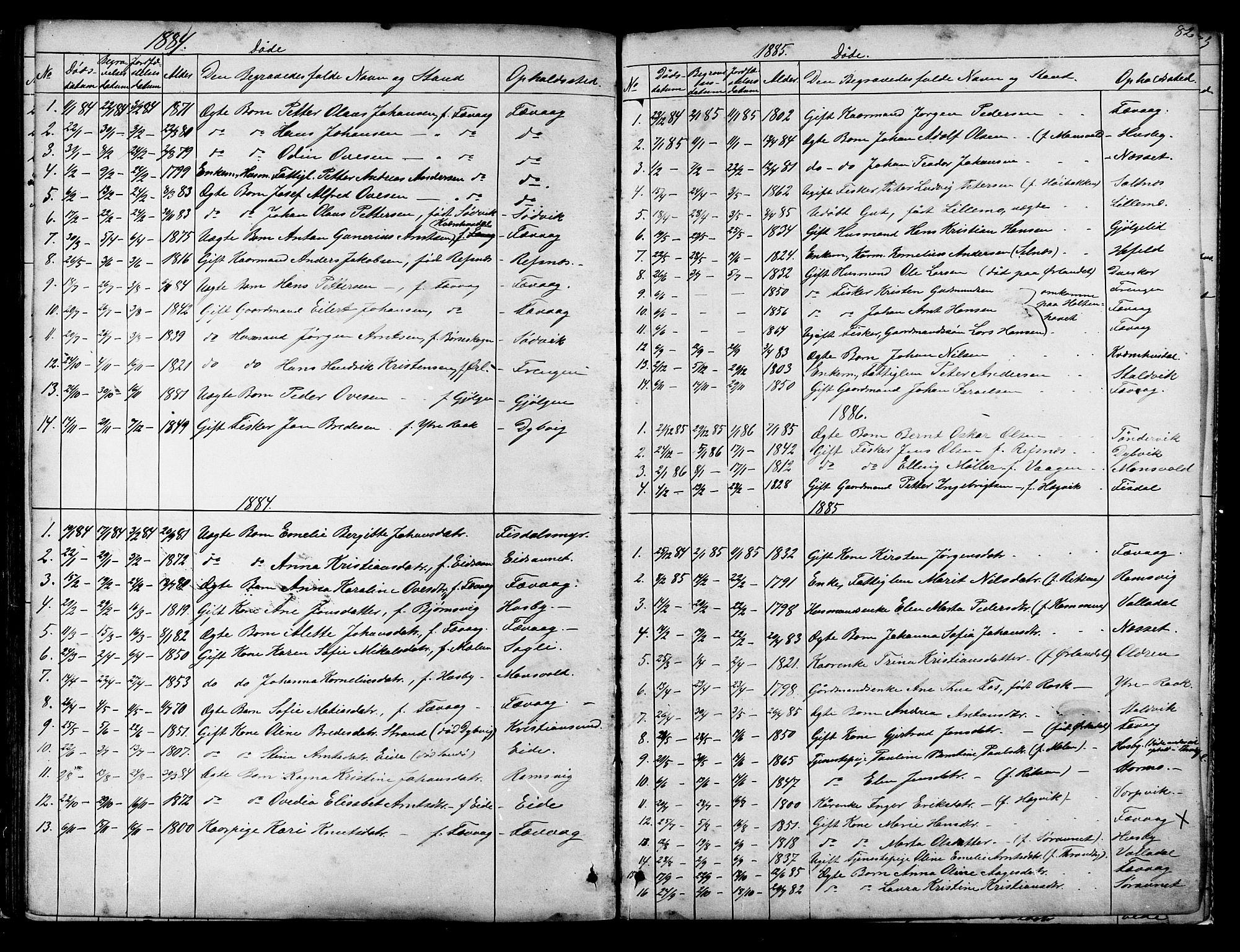 SAT, Ministerialprotokoller, klokkerbøker og fødselsregistre - Sør-Trøndelag, 653/L0657: Klokkerbok nr. 653C01, 1866-1893, s. 82
