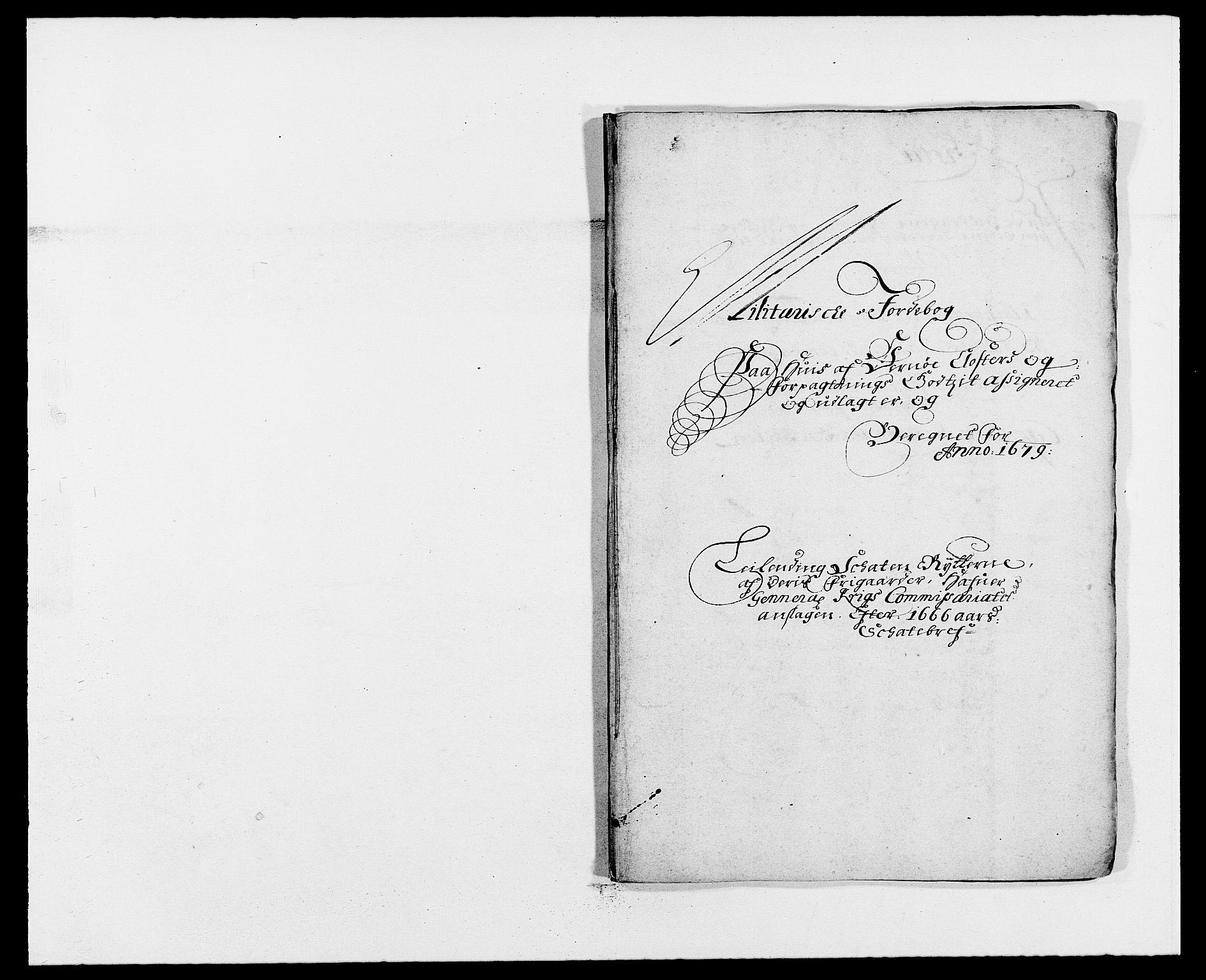 RA, Rentekammeret inntil 1814, Reviderte regnskaper, Fogderegnskap, R02/L0100: Fogderegnskap Moss og Verne kloster, 1679, s. 279