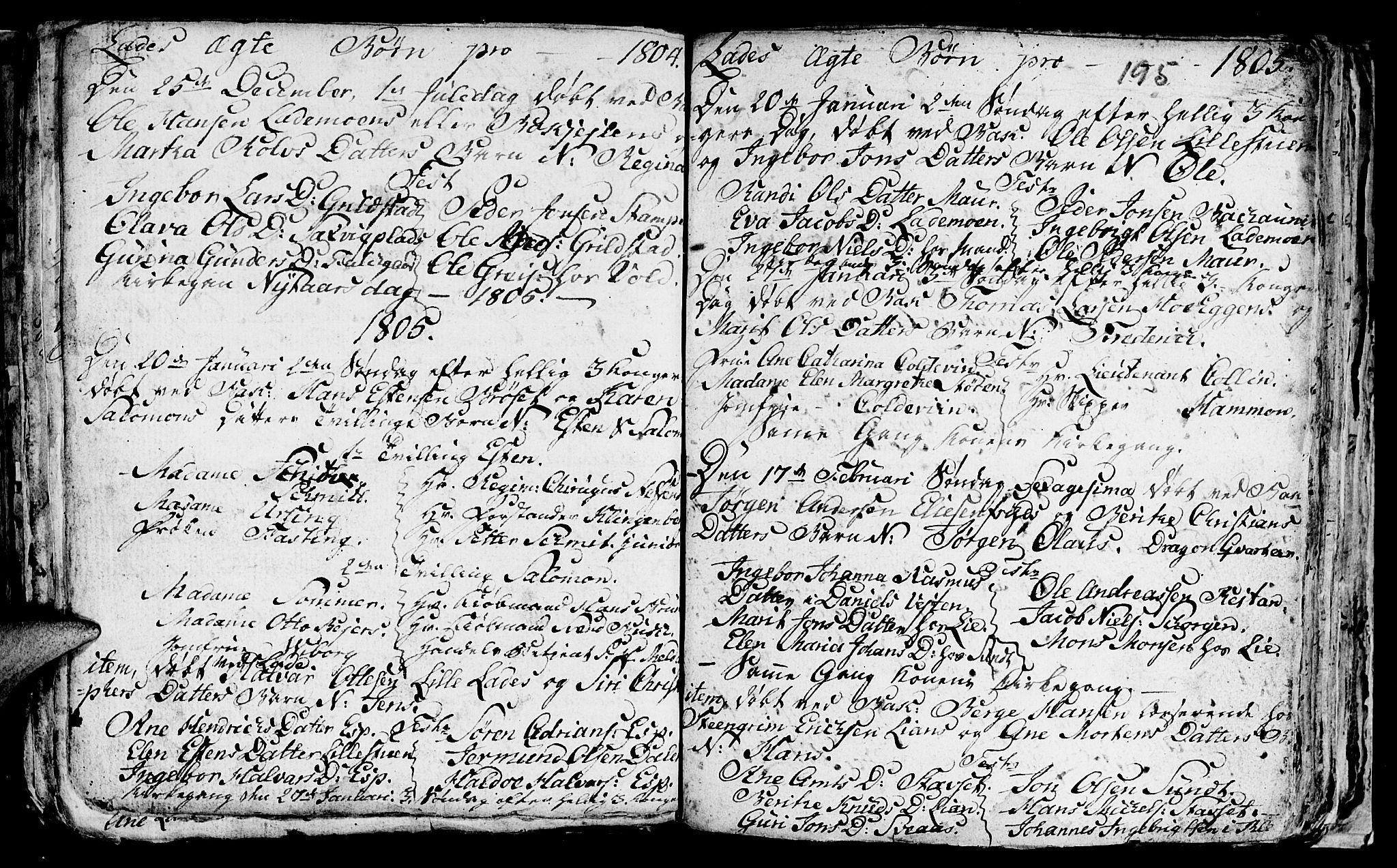 SAT, Ministerialprotokoller, klokkerbøker og fødselsregistre - Sør-Trøndelag, 606/L0305: Klokkerbok nr. 606C01, 1757-1819, s. 195