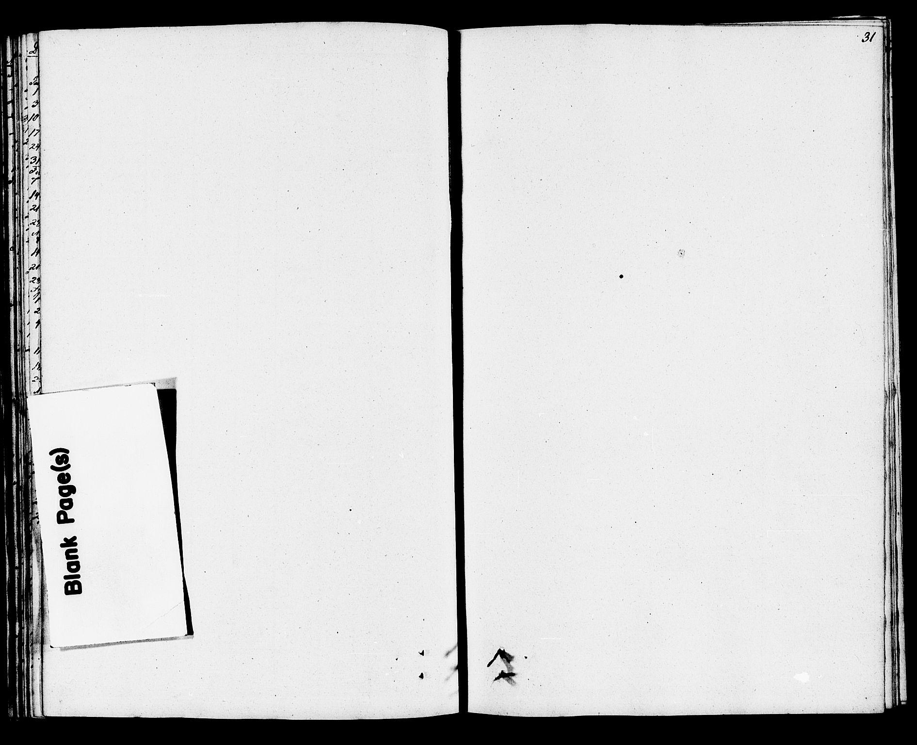 SAKO, Eidanger kirkebøker, F/Fa/L0009: Ministerialbok nr. 9, 1831-1849, s. 31