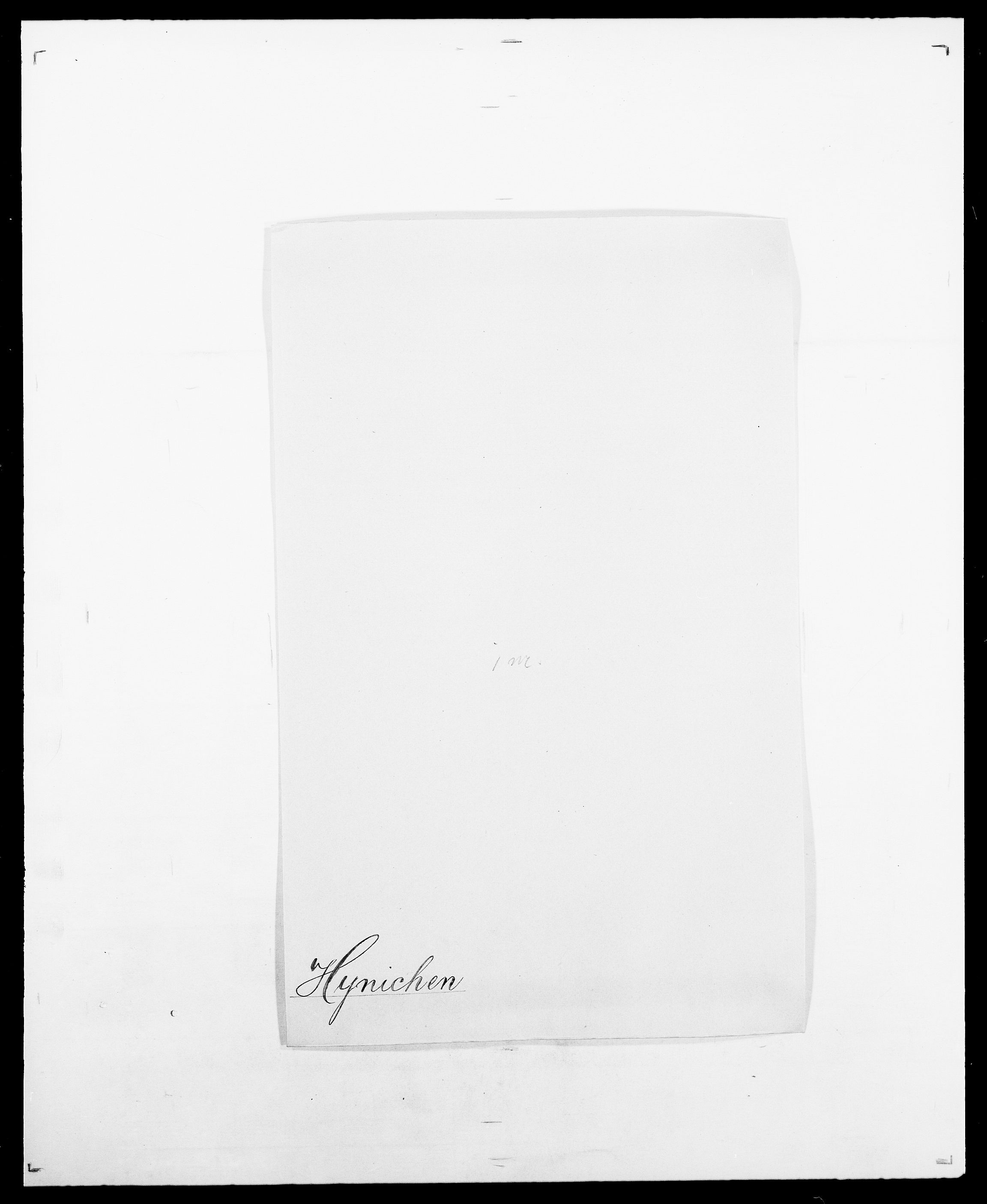 SAO, Delgobe, Charles Antoine - samling, D/Da/L0019: van der Hude - Joys, s. 282