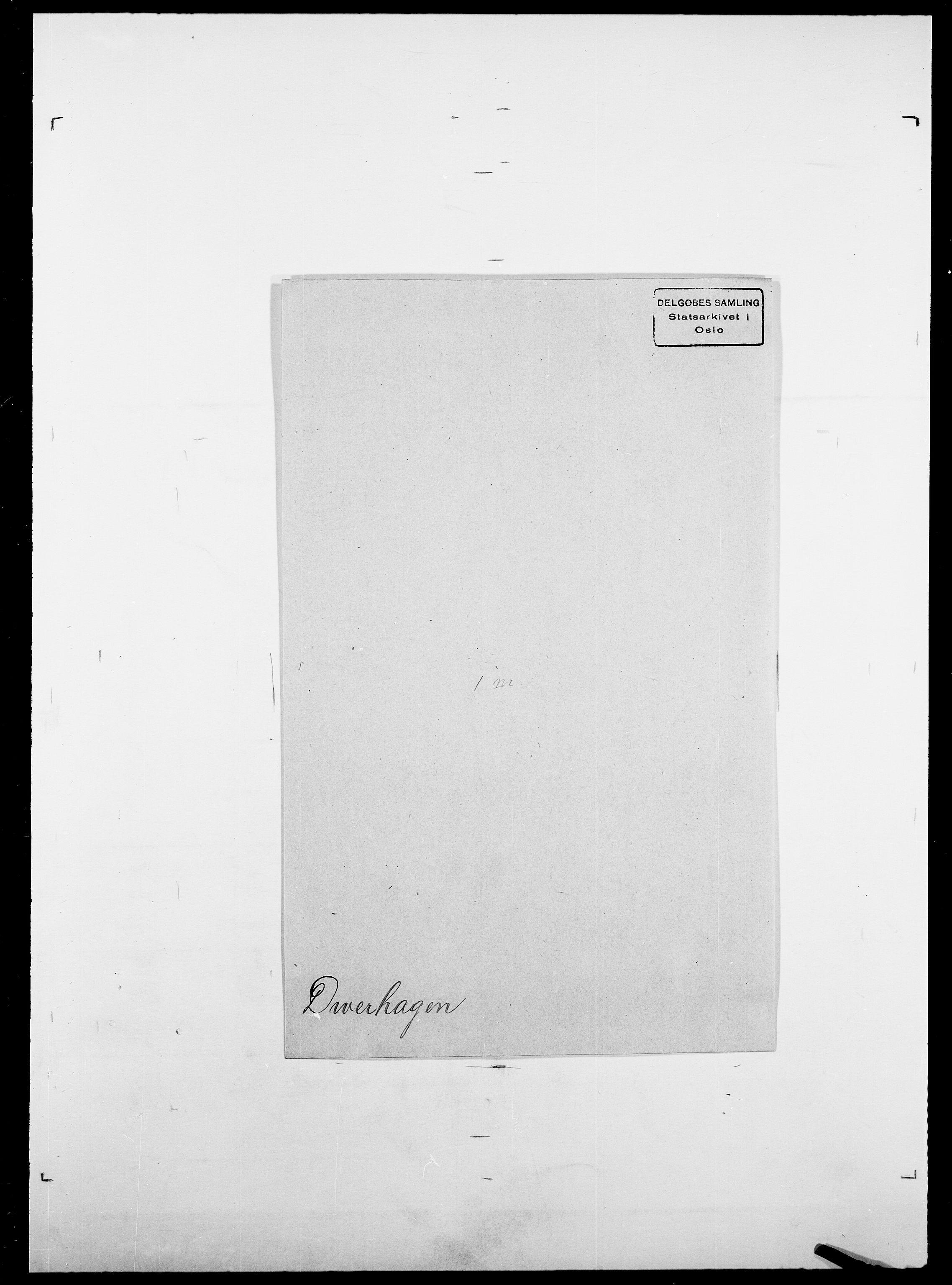 SAO, Delgobe, Charles Antoine - samling, D/Da/L0009: Dahl - v. Düren, s. 874
