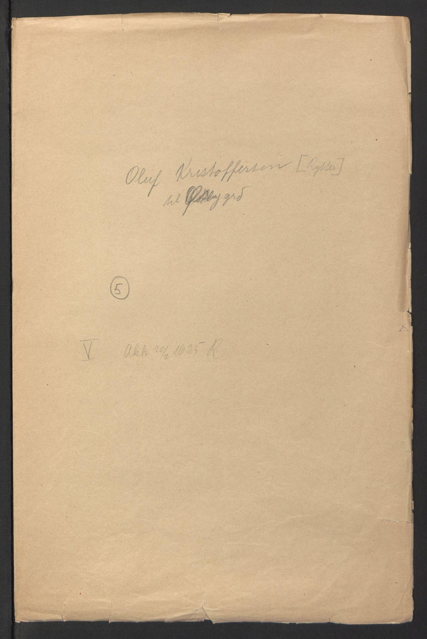 RA, Stattholderembetet 1572-1771, Ek/L0007: Jordebøker til utlikning av rosstjeneste 1624-1626:, 1624-1625, s. 178