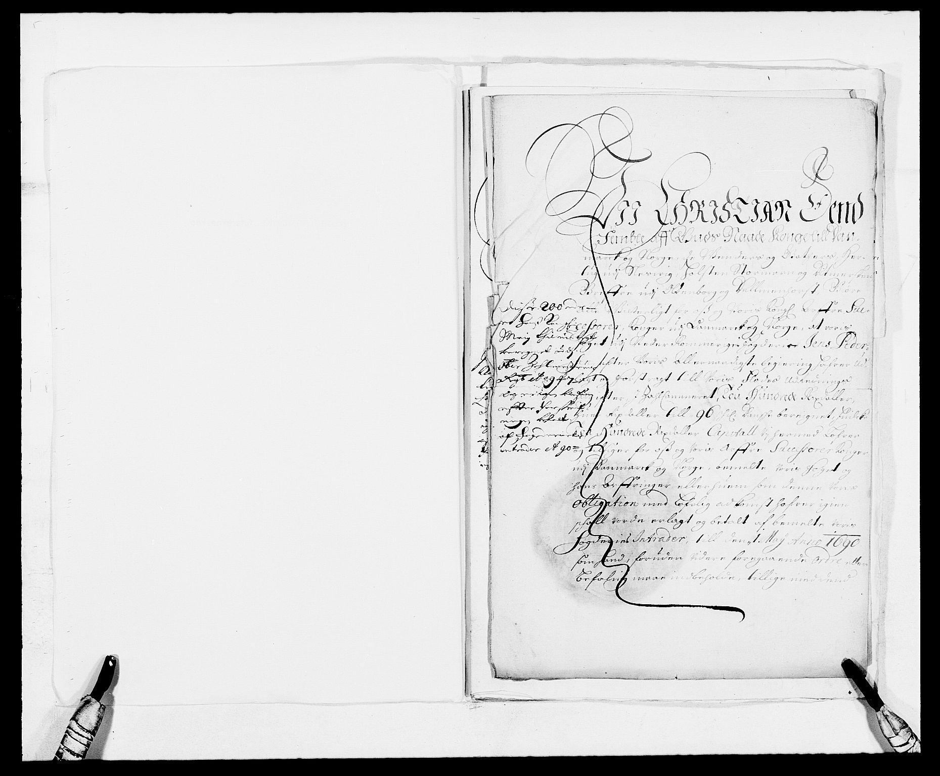 RA, Rentekammeret inntil 1814, Reviderte regnskaper, Fogderegnskap, R11/L0574: Fogderegnskap Nedre Romerike, 1689-1690, s. 452