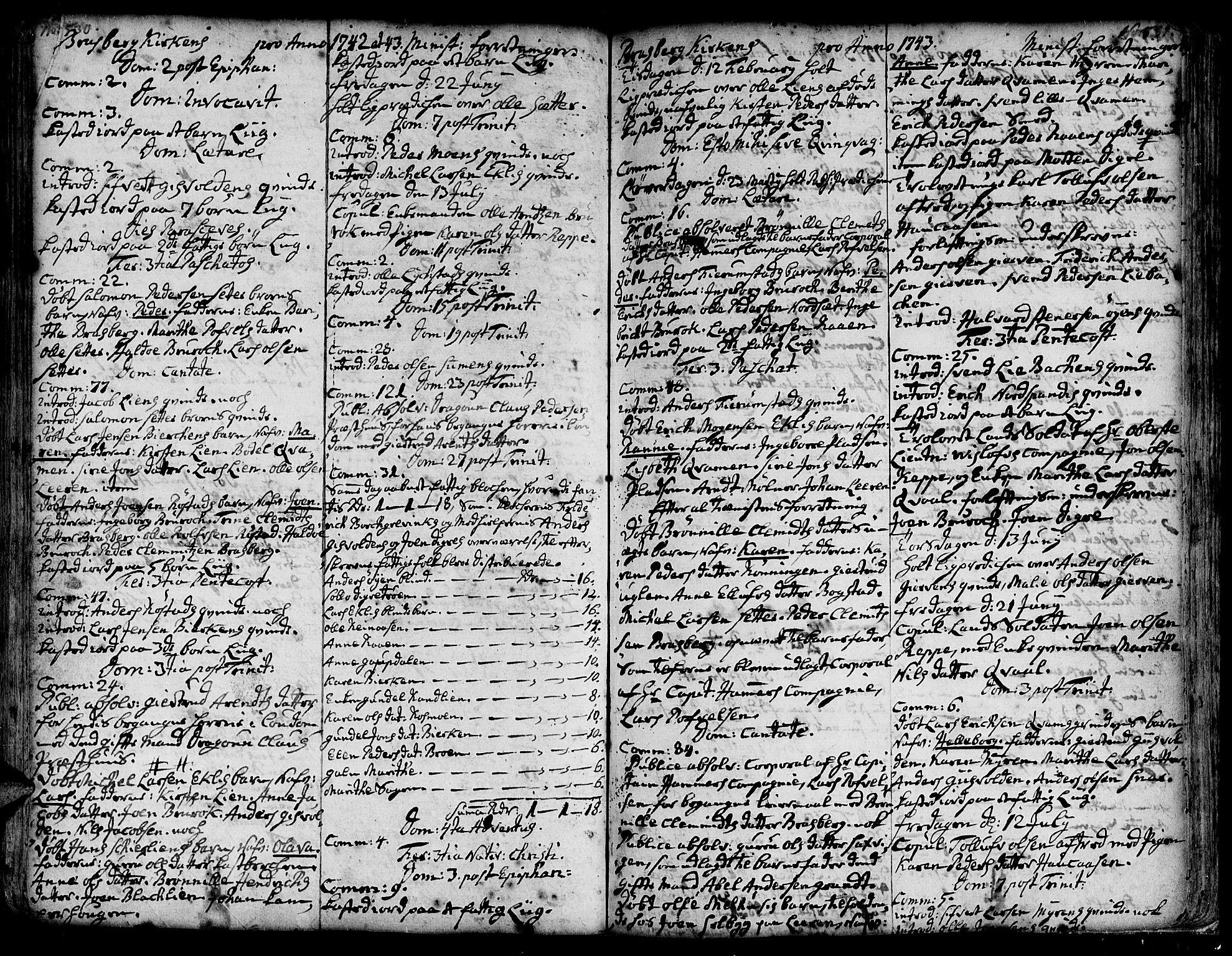 SAT, Ministerialprotokoller, klokkerbøker og fødselsregistre - Sør-Trøndelag, 606/L0278: Ministerialbok nr. 606A01 /4, 1727-1780, s. 530-531