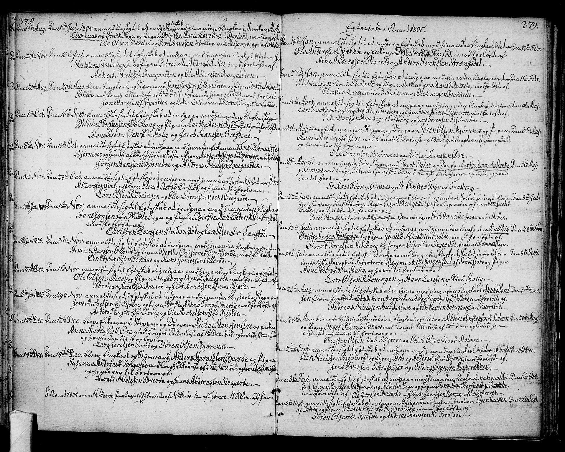 SAKO, Nøtterøy kirkebøker, F/Fa/L0003: Ministerialbok nr. I 3, 1791-1814, s. 378-379