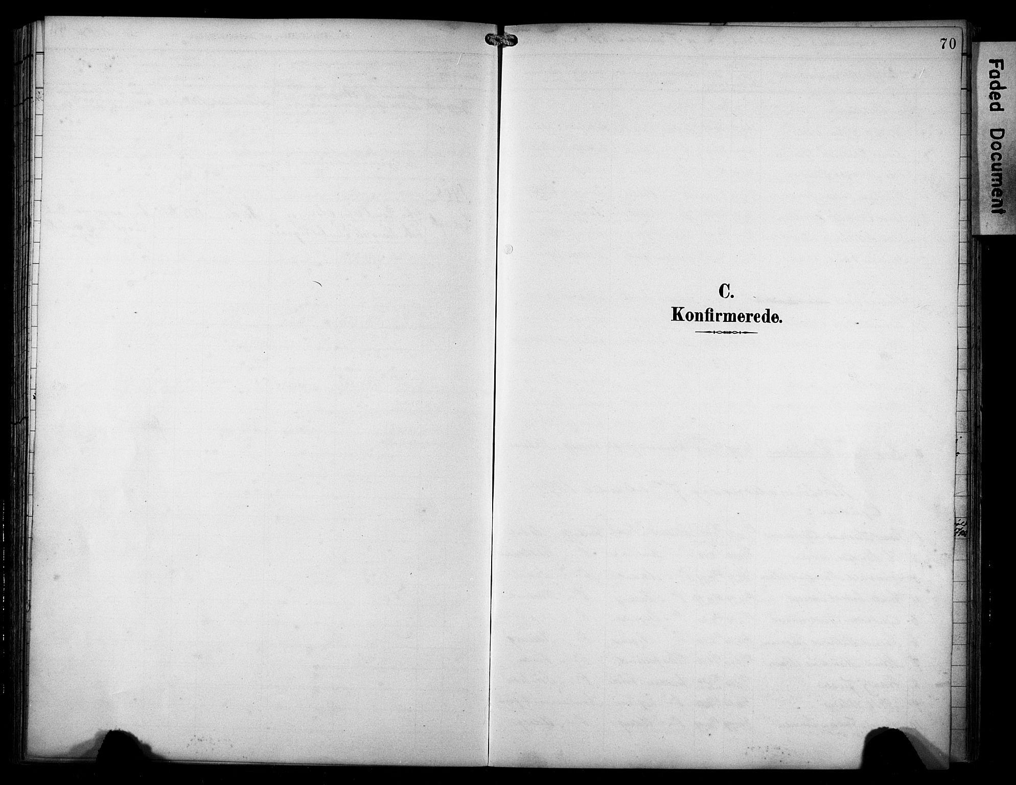 SAST, Avaldsnes sokneprestkontor, H/Ha/Haa/L0016: Ministerialbok nr. A 16, 1893-1918, s. 70