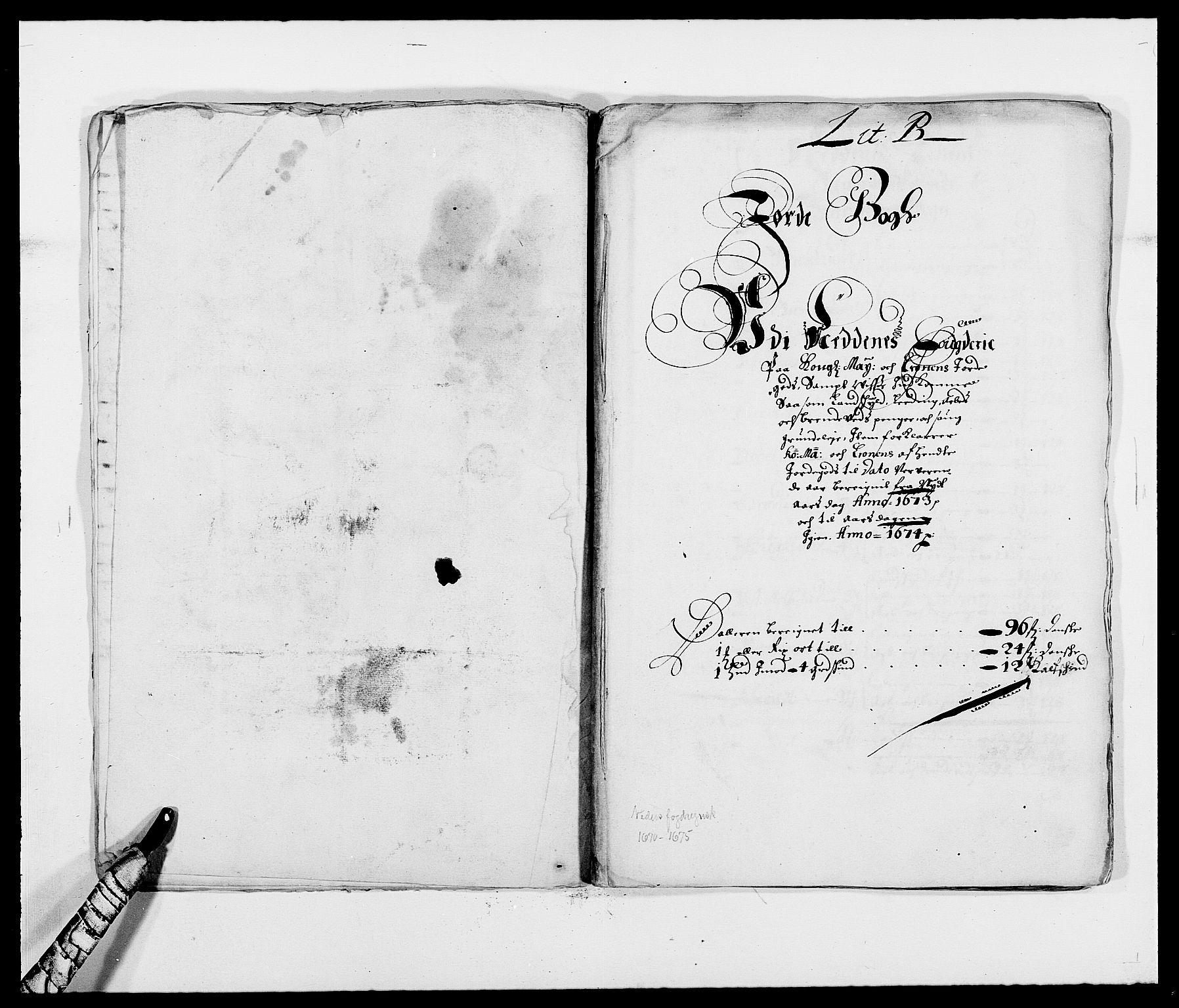 RA, Rentekammeret inntil 1814, Reviderte regnskaper, Fogderegnskap, R39/L2300: Fogderegnskap Nedenes, 1672-1674, s. 134