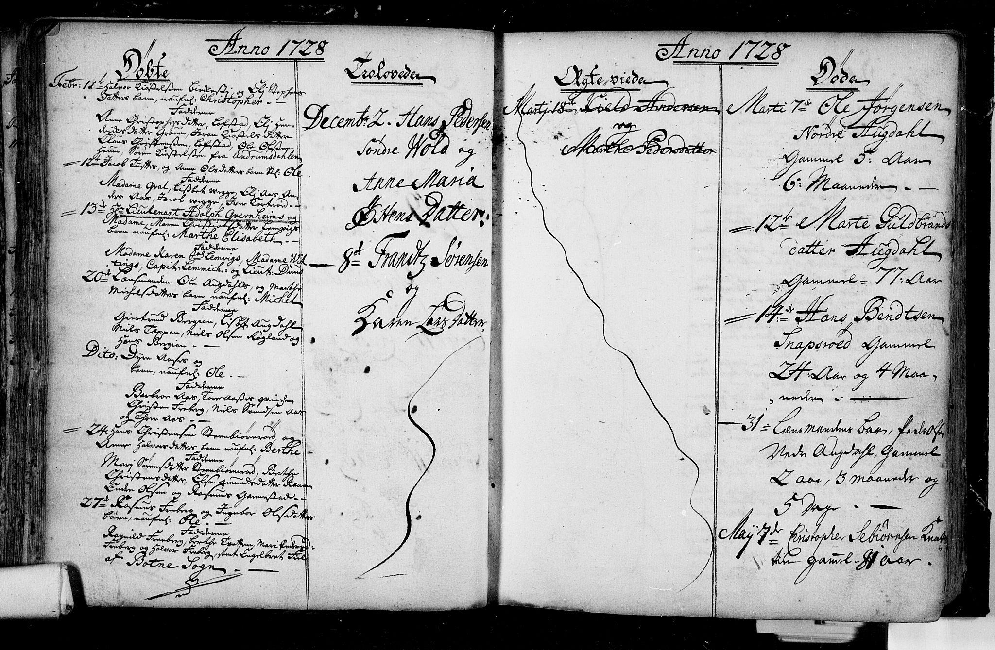 SAKO, Borre kirkebøker, F/Fa/L0001: Ministerialbok nr. I 1, 1710-1750, s. 32