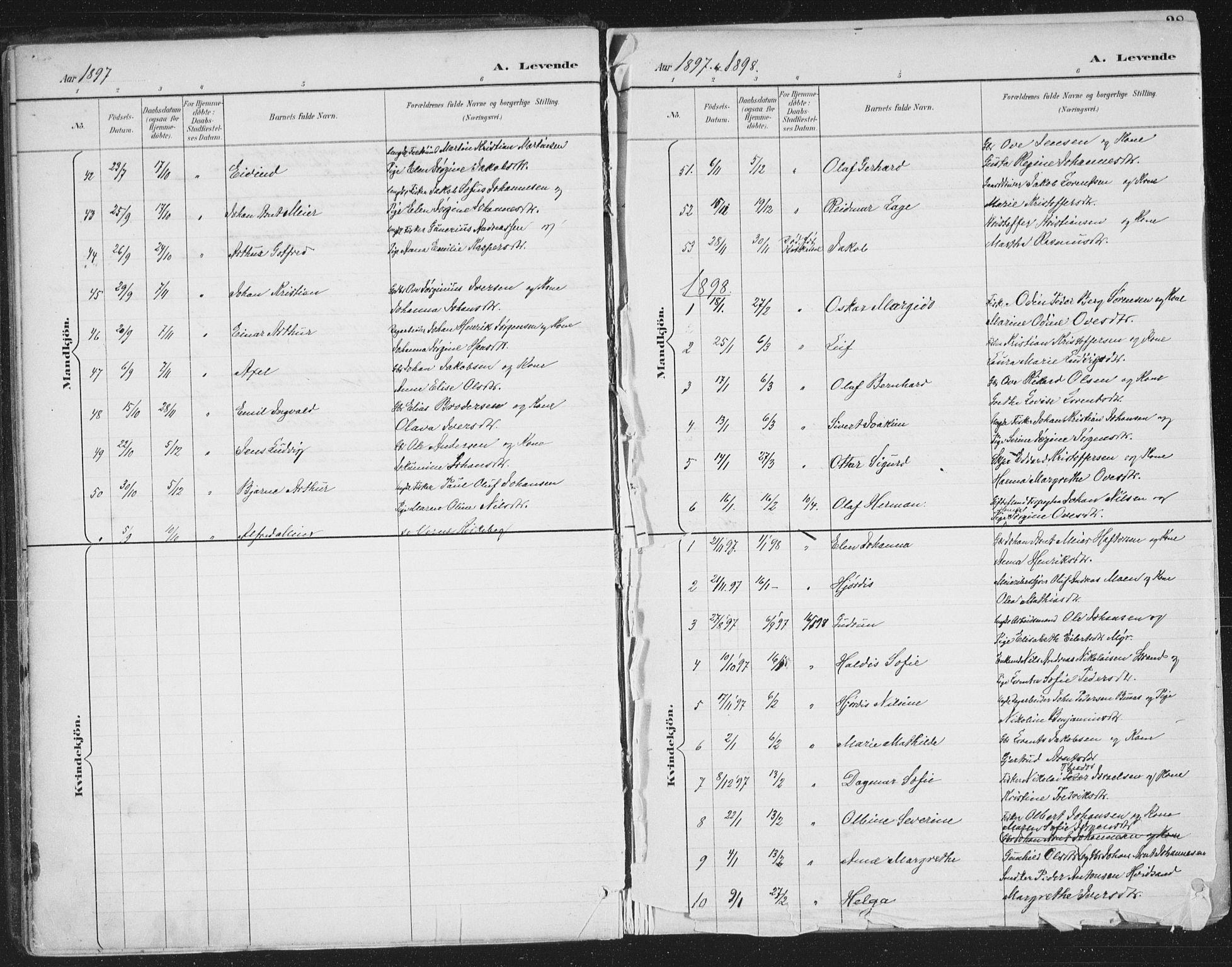 SAT, Ministerialprotokoller, klokkerbøker og fødselsregistre - Sør-Trøndelag, 659/L0743: Ministerialbok nr. 659A13, 1893-1910, s. 27