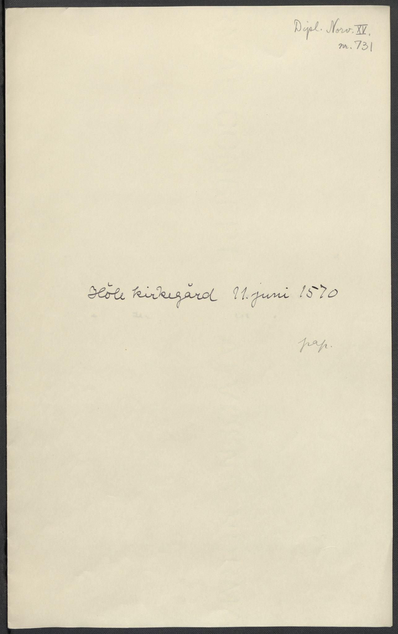 RA, Riksarkivets diplomsamling, F02/L0075: Dokumenter, 1570-1571, s. 24