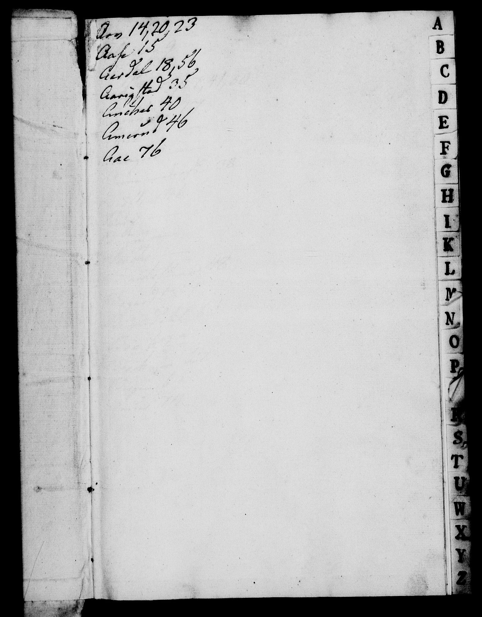 RA, Rentekammeret, Kammerkanselliet, G/Gf/Gfa/L0049: Norsk relasjons- og resolusjonsprotokoll (merket RK 52.49), 1767, s. 3