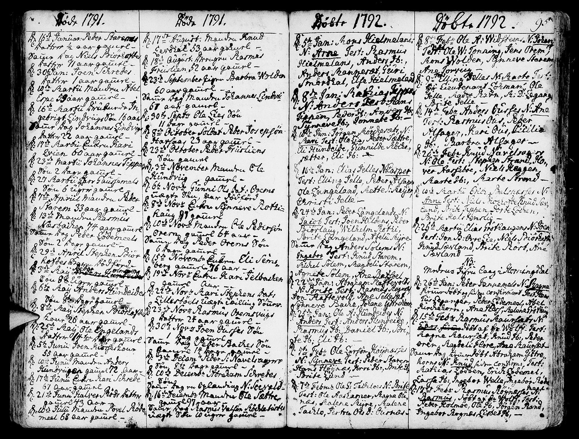 SAB, Eid Sokneprestembete, H/Haa: Ministerialbok nr. A 3, 1770-1805, s. 95