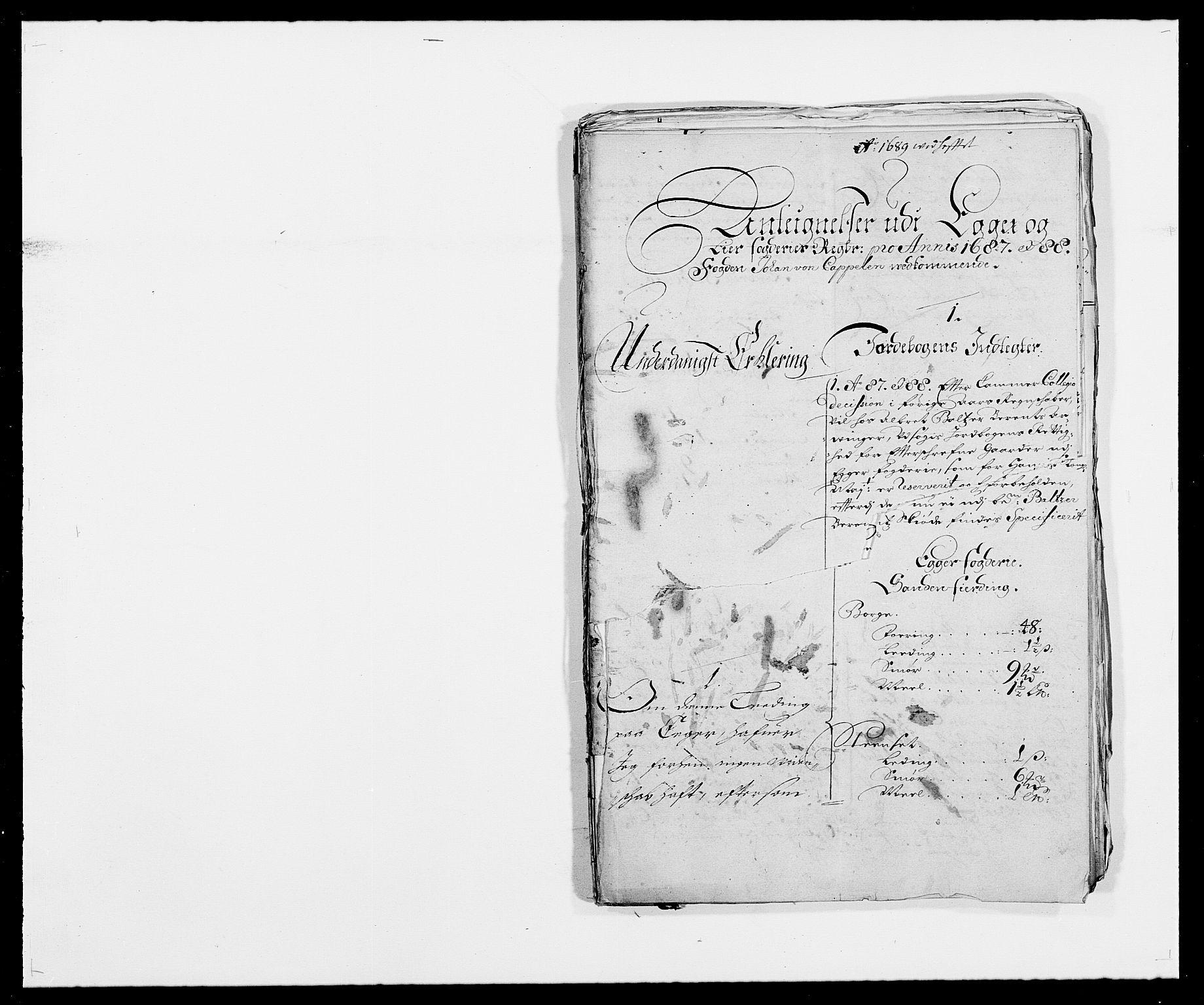 RA, Rentekammeret inntil 1814, Reviderte regnskaper, Fogderegnskap, R28/L1688: Fogderegnskap Eiker og Lier, 1687-1689, s. 286