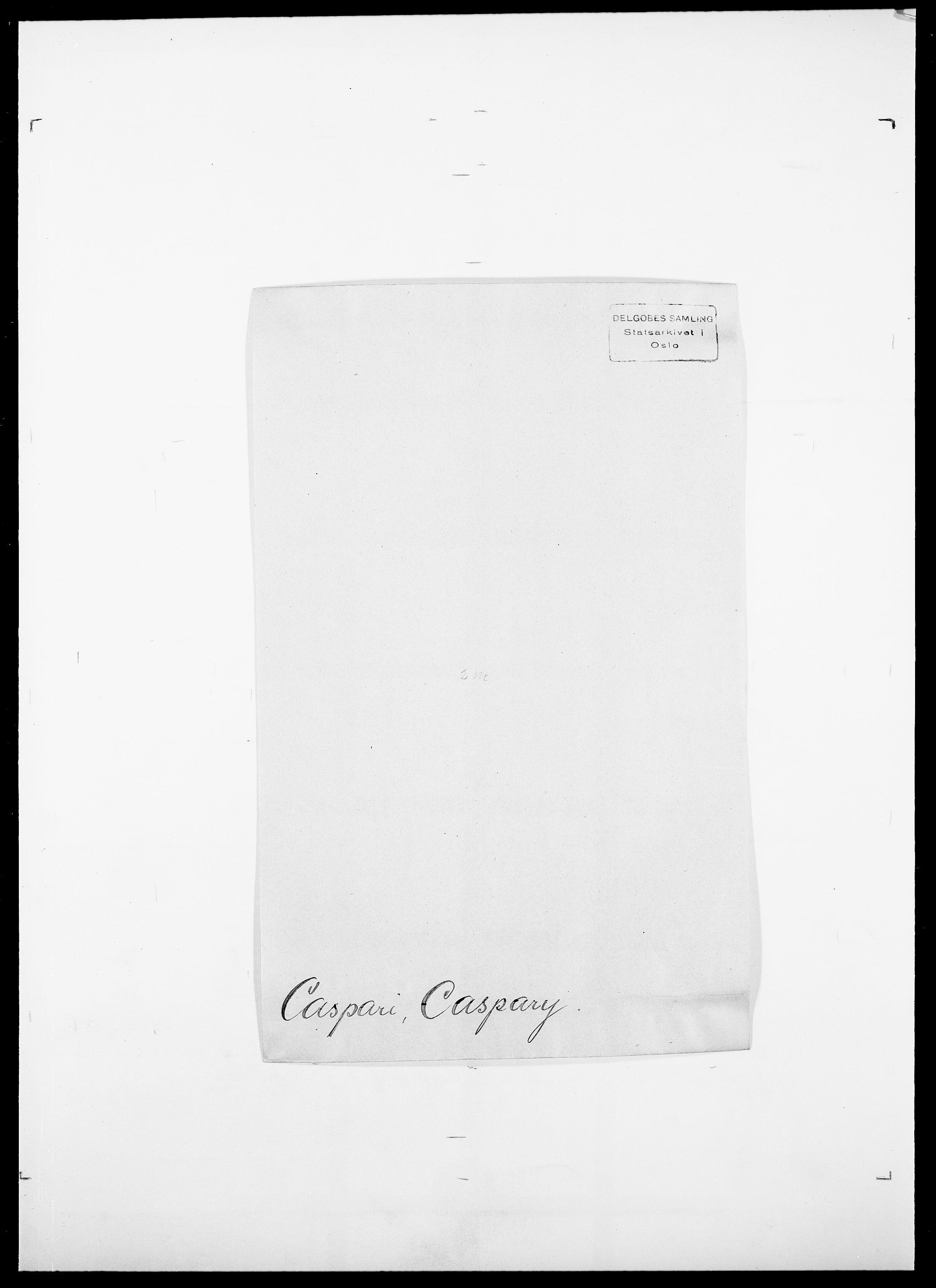 SAO, Delgobe, Charles Antoine - samling, D/Da/L0008: Capjon - Dagenbolt, s. 115