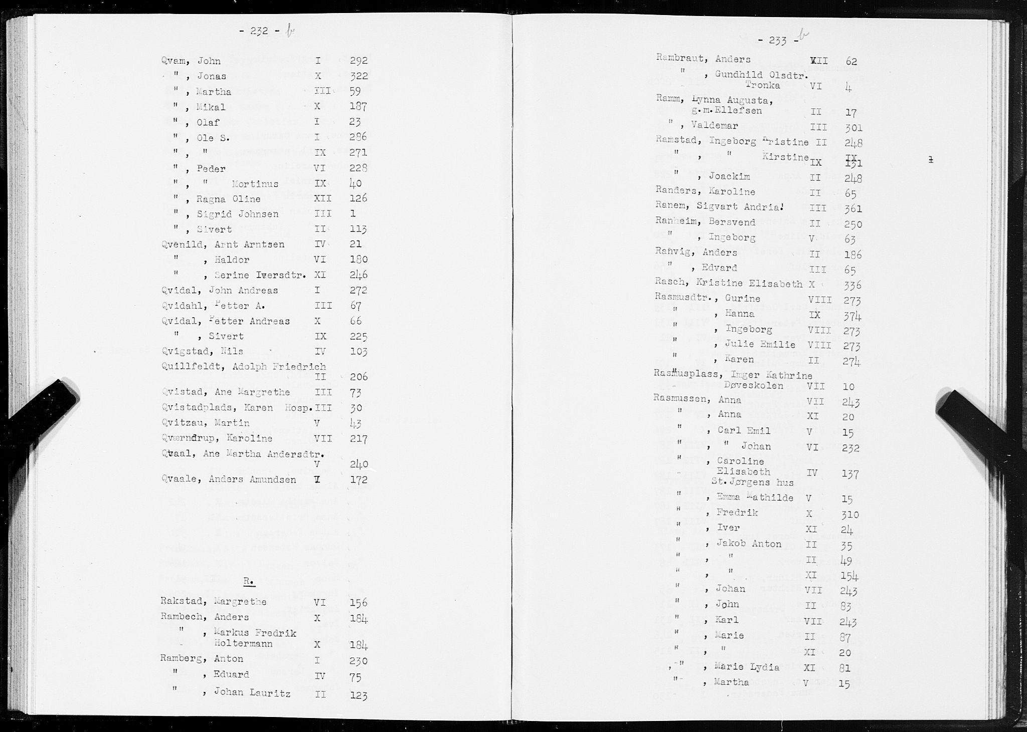SAT, Folketelling 1875 for 1601 Trondheim kjøpstad, 1875, s. 232b-233b