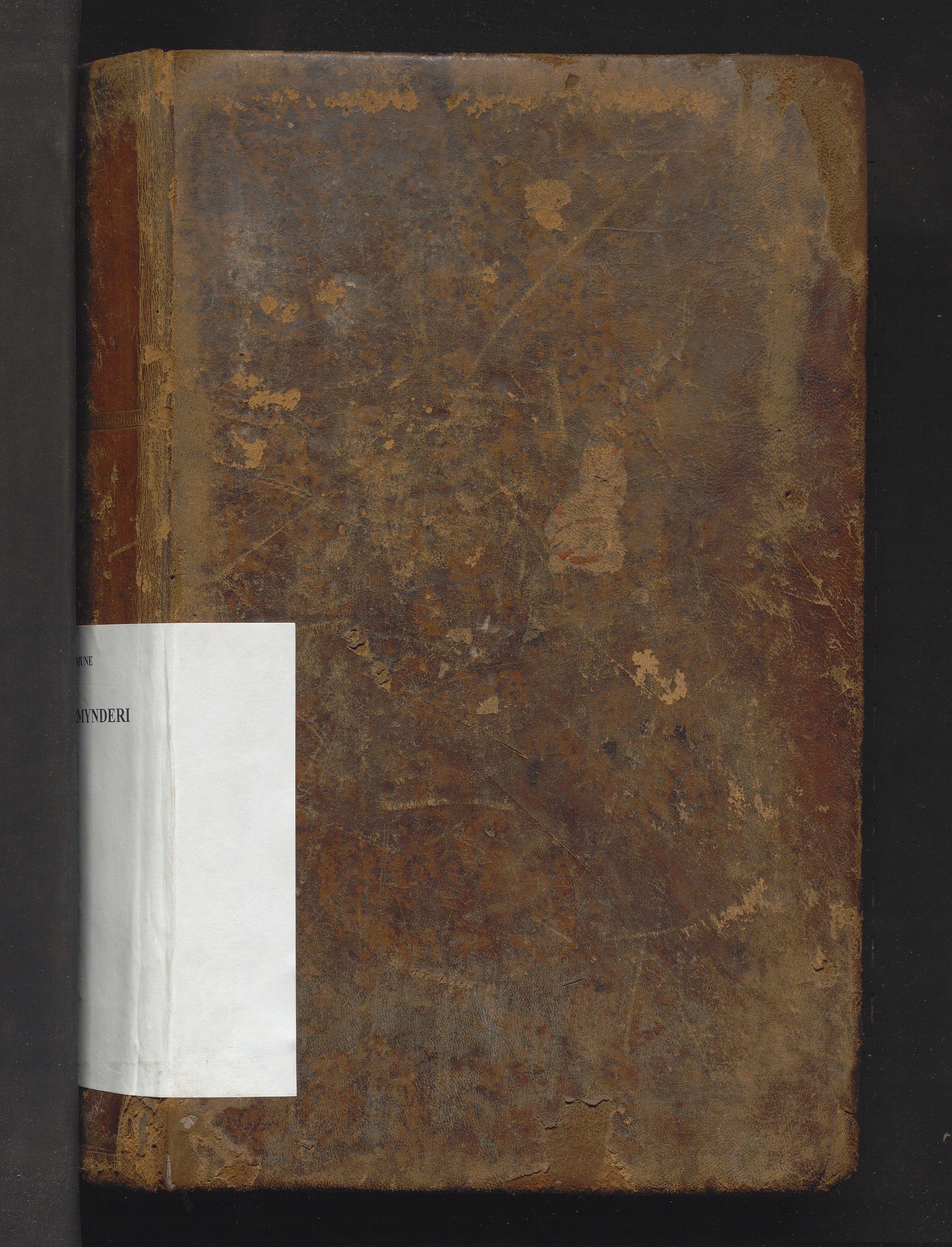 IKAH, Manger kommune. Overformynderiet, F/Fa/L0001: Stor overformyndarrulle, 1855-1883