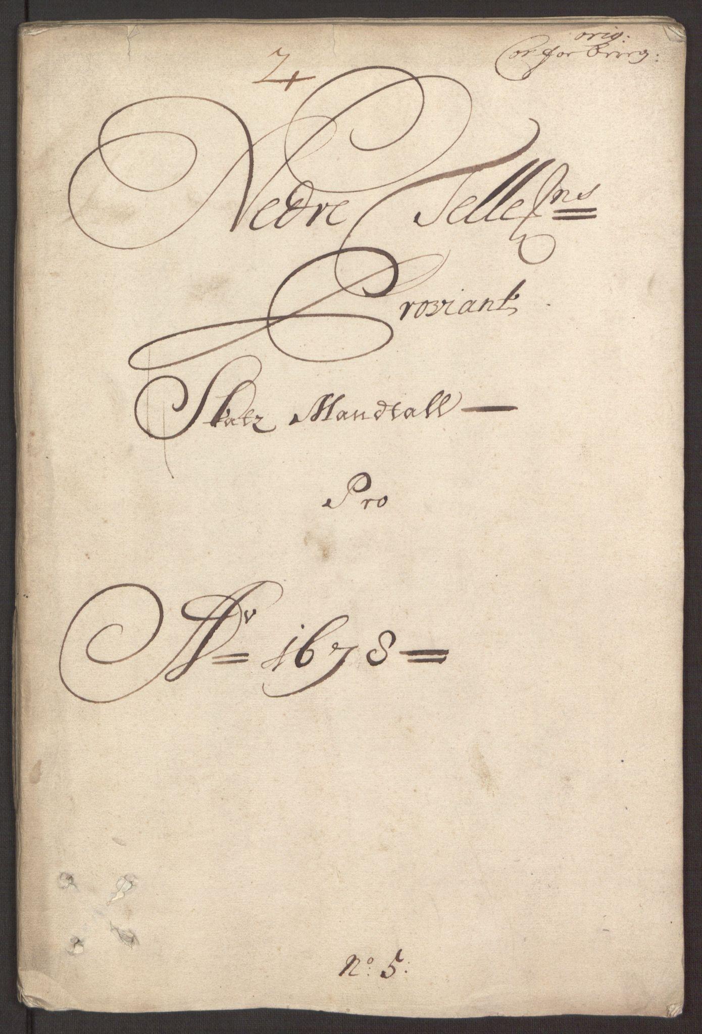 RA, Rentekammeret inntil 1814, Reviderte regnskaper, Fogderegnskap, R35/L2069: Fogderegnskap Øvre og Nedre Telemark, 1678, s. 154