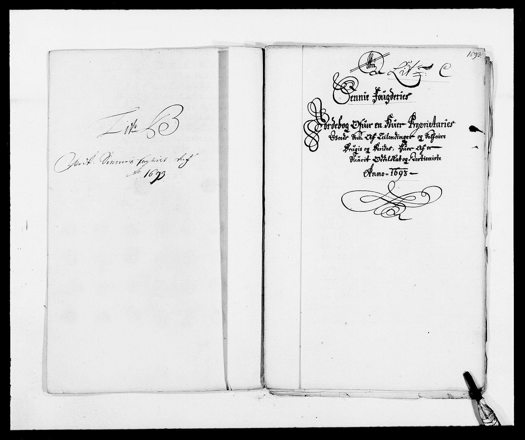 RA, Rentekammeret inntil 1814, Reviderte regnskaper, Fogderegnskap, R68/L4752: Fogderegnskap Senja og Troms, 1691-1693, s. 361