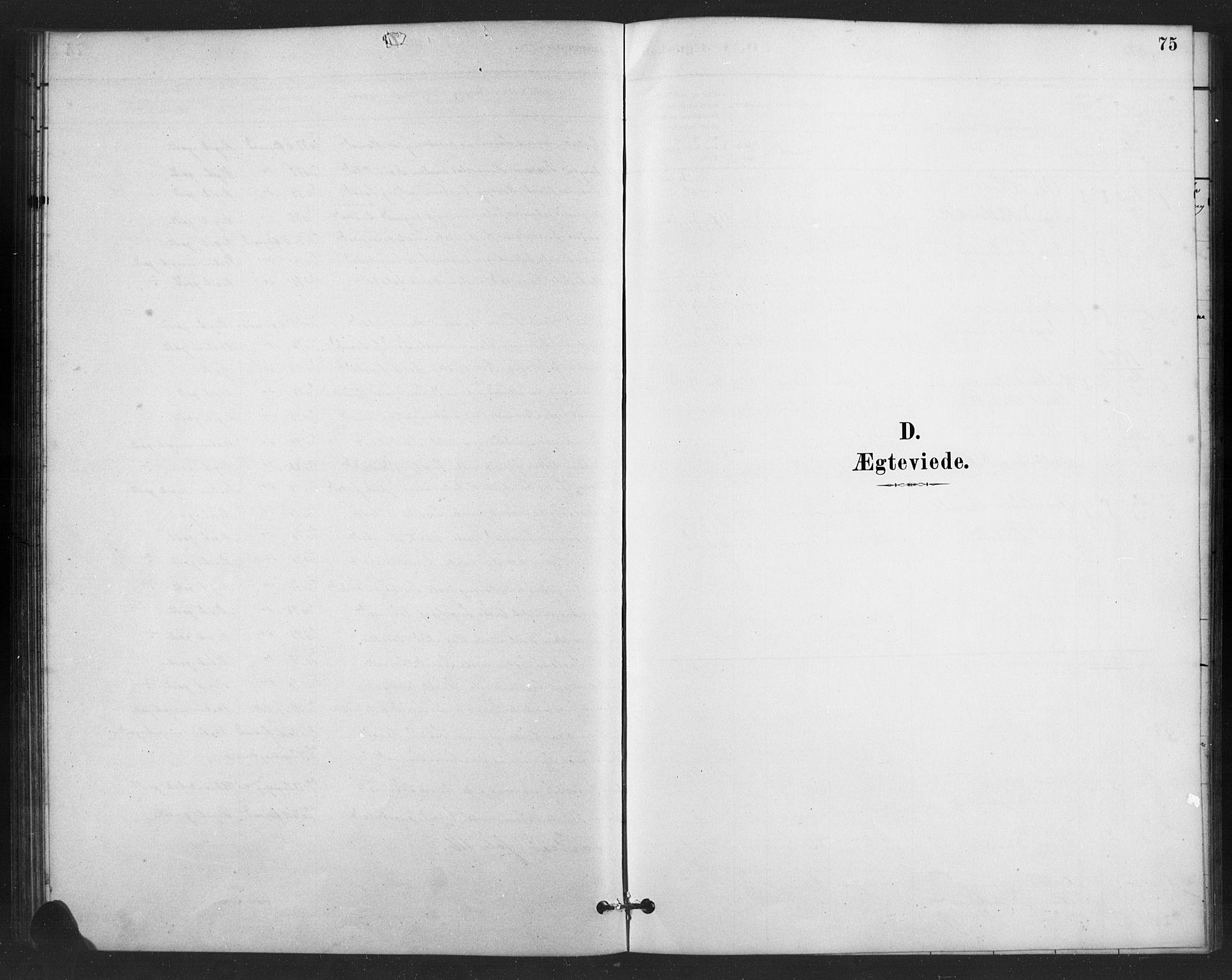 SAH, Vestre Slidre prestekontor, Klokkerbok nr. 6, 1881-1915, s. 75