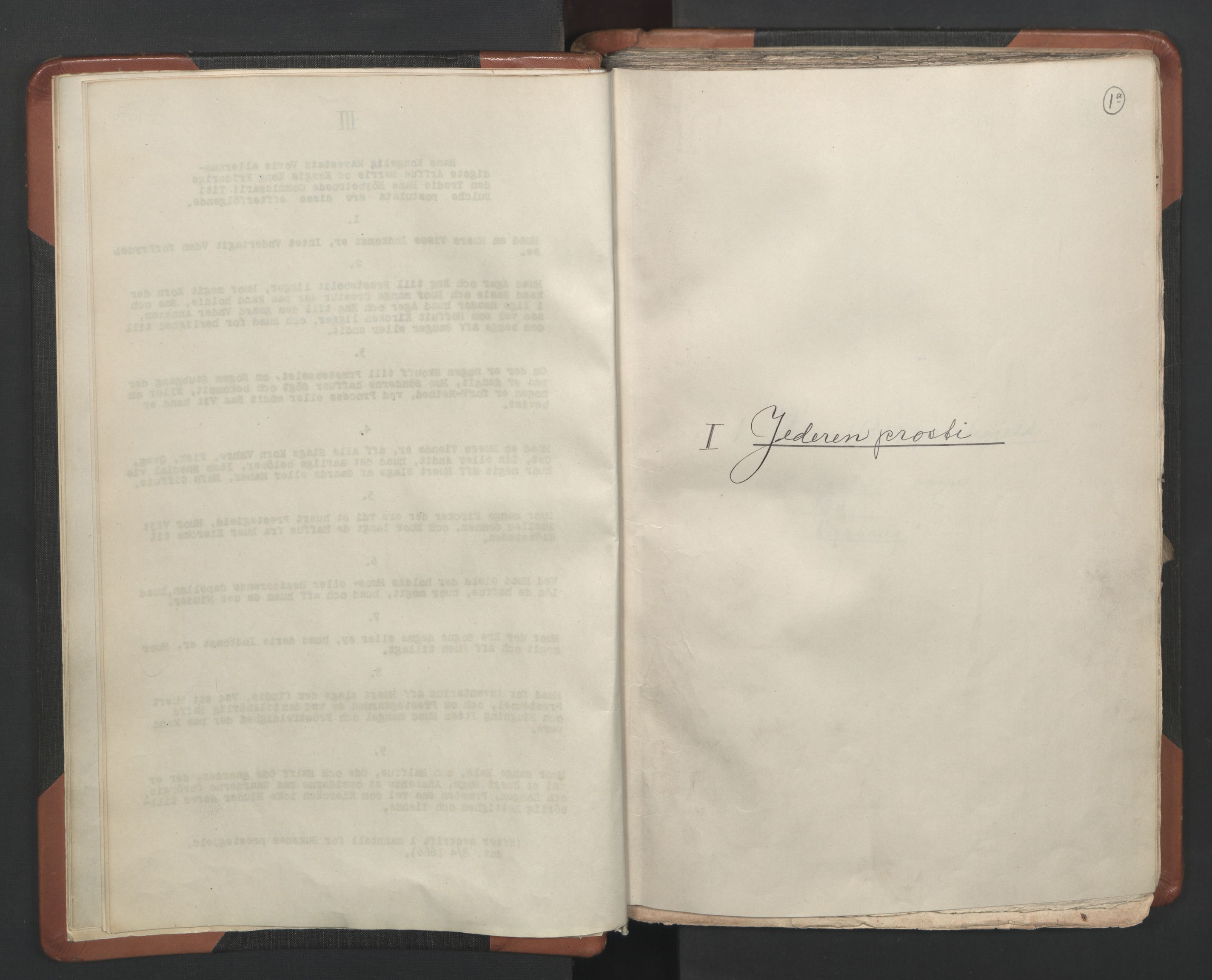 RA, Sogneprestenes manntall 1664-1666, nr. 17: Jæren prosti og Dalane prosti, 1664-1666, s. 1