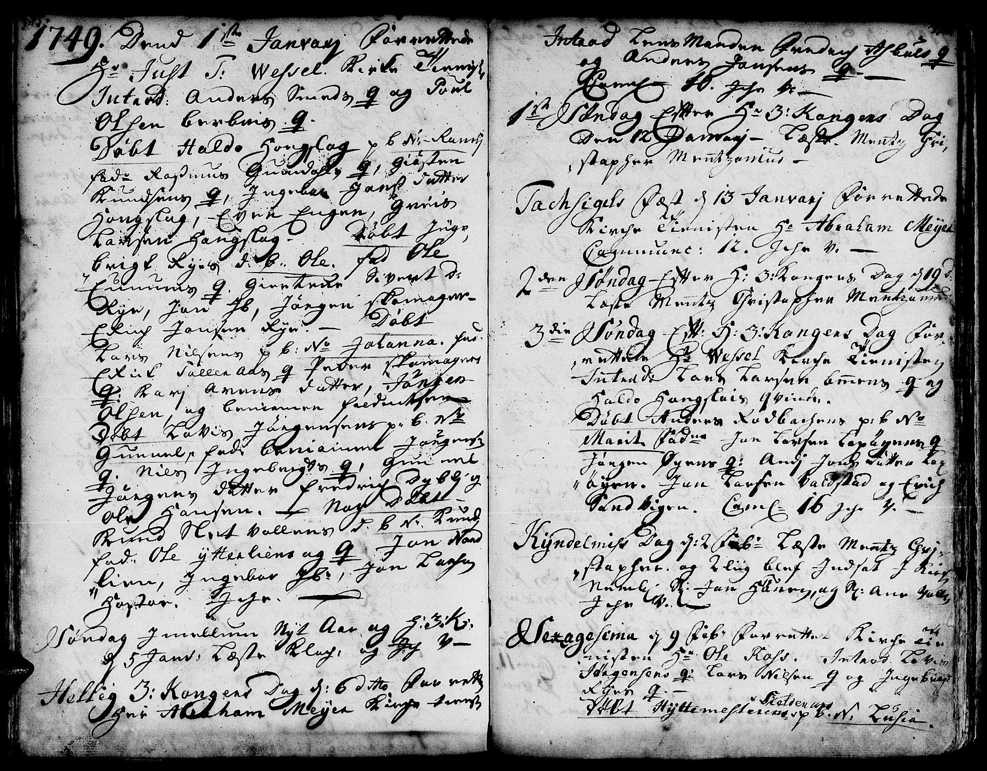 SAT, Ministerialprotokoller, klokkerbøker og fødselsregistre - Sør-Trøndelag, 671/L0839: Ministerialbok nr. 671A01, 1730-1755, s. 375-376
