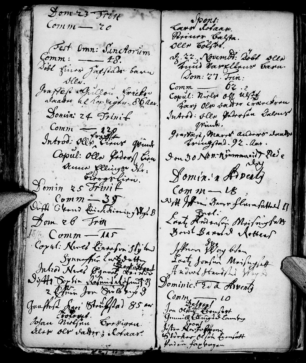 SAT, Ministerialprotokoller, klokkerbøker og fødselsregistre - Møre og Romsdal, 586/L0976: Ministerialbok nr. 586A02, 1664-1702