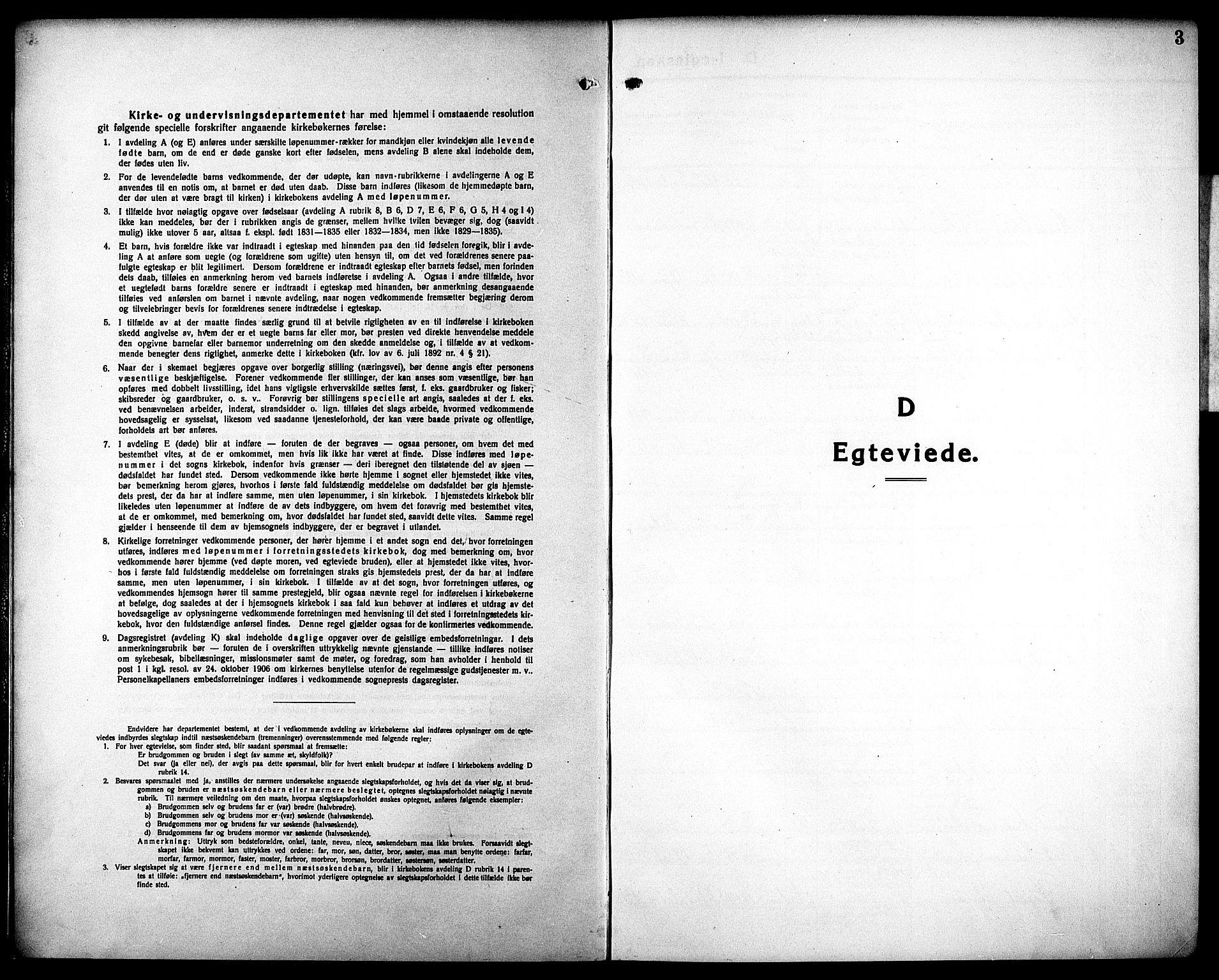 SAT, Ministerialprotokoller, klokkerbøker og fødselsregistre - Sør-Trøndelag, 602/L0149: Klokkerbok nr. 602C17, 1919-1932, s. 3