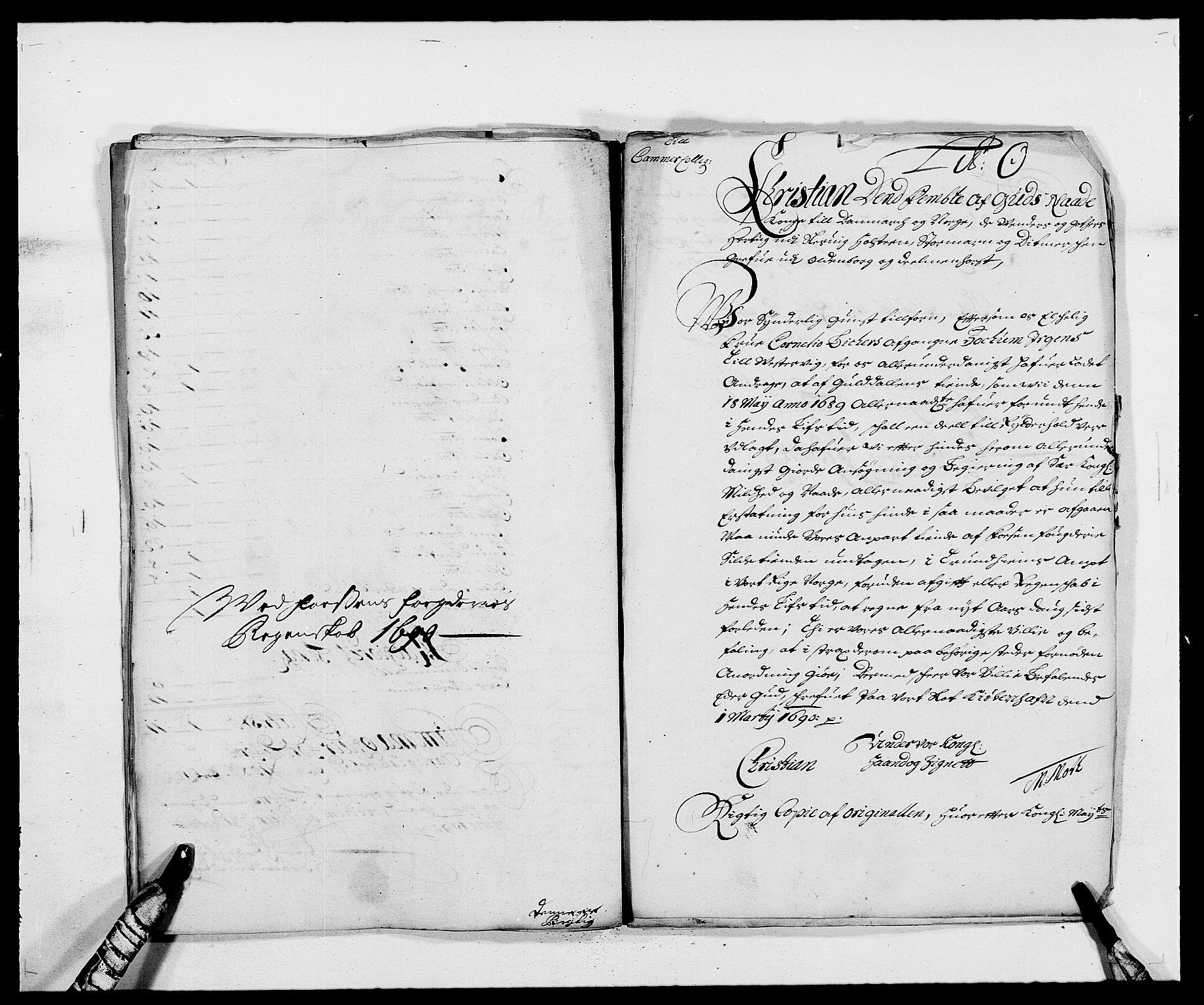 RA, Rentekammeret inntil 1814, Reviderte regnskaper, Fogderegnskap, R57/L3848: Fogderegnskap Fosen, 1690-1691, s. 181