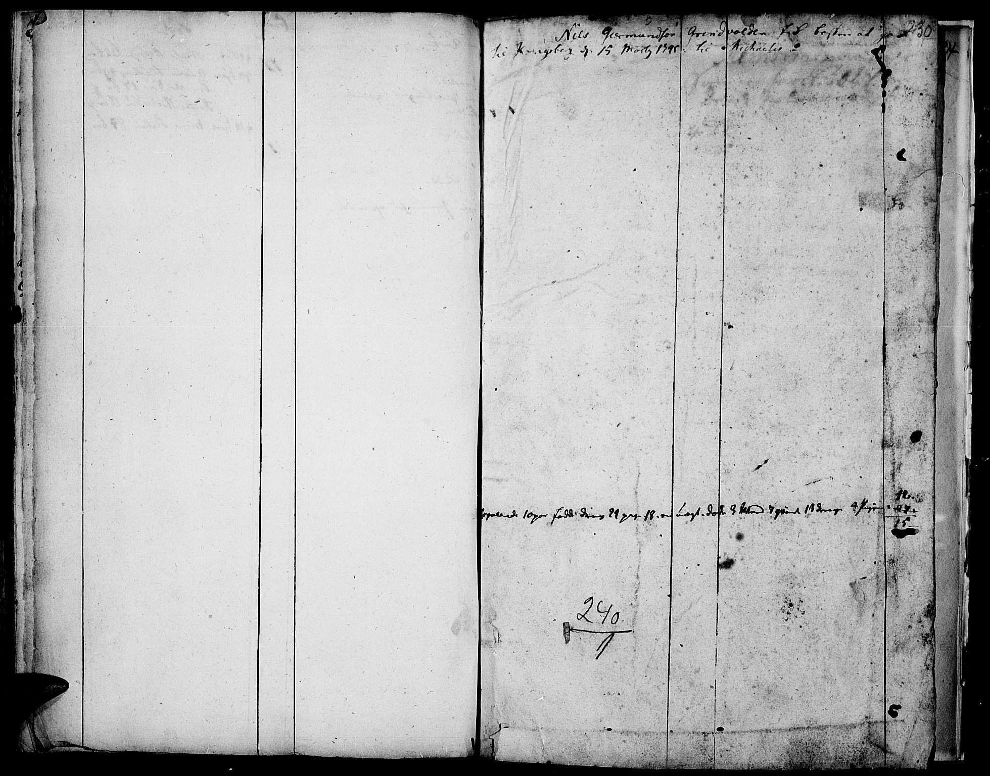 SAH, Vardal prestekontor, H/Ha/Haa/L0001: Ministerialbok nr. 1, 1706-1748, s. 230