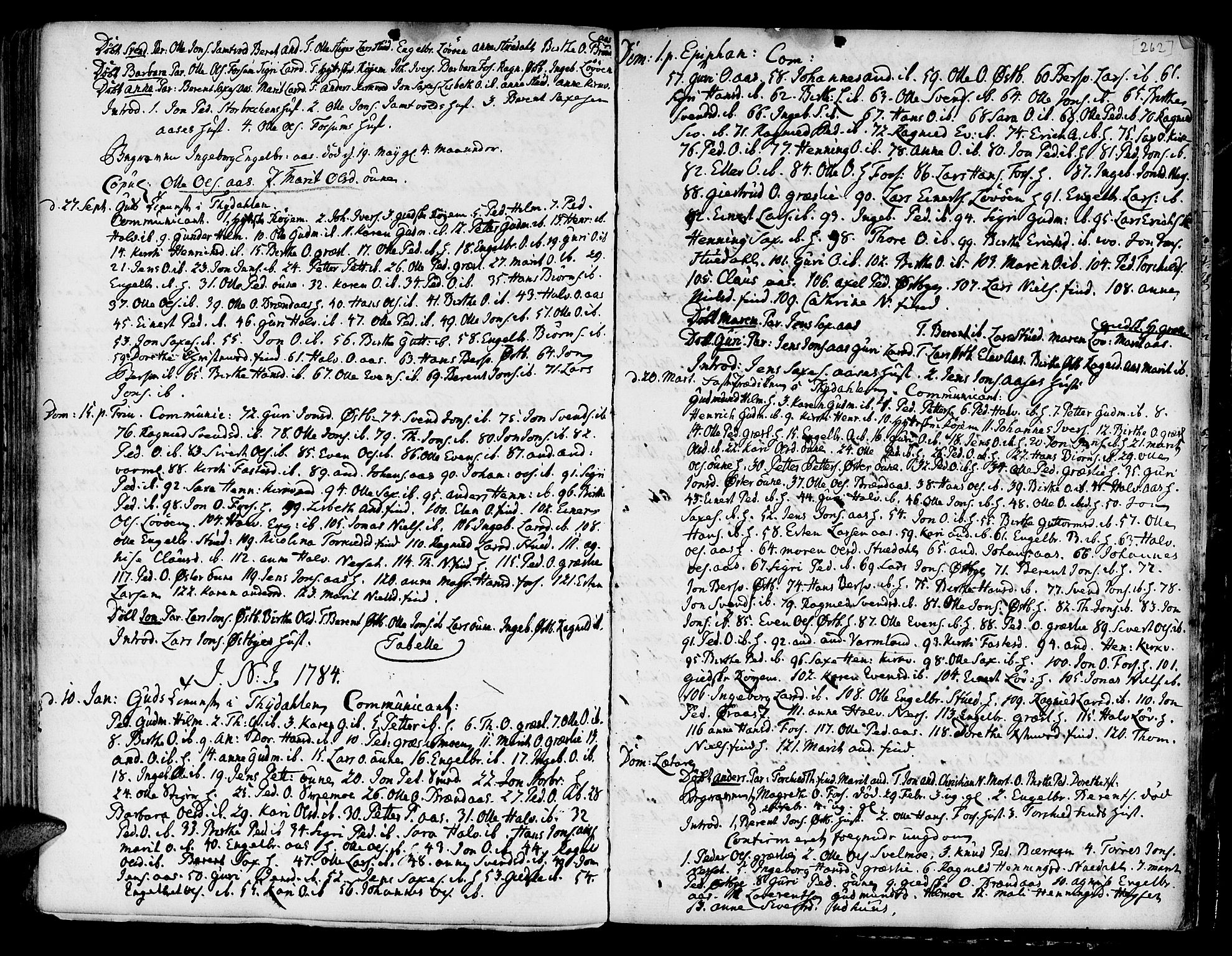 SAT, Ministerialprotokoller, klokkerbøker og fødselsregistre - Sør-Trøndelag, 695/L1139: Ministerialbok nr. 695A02 /2, 1776-1790, s. 262