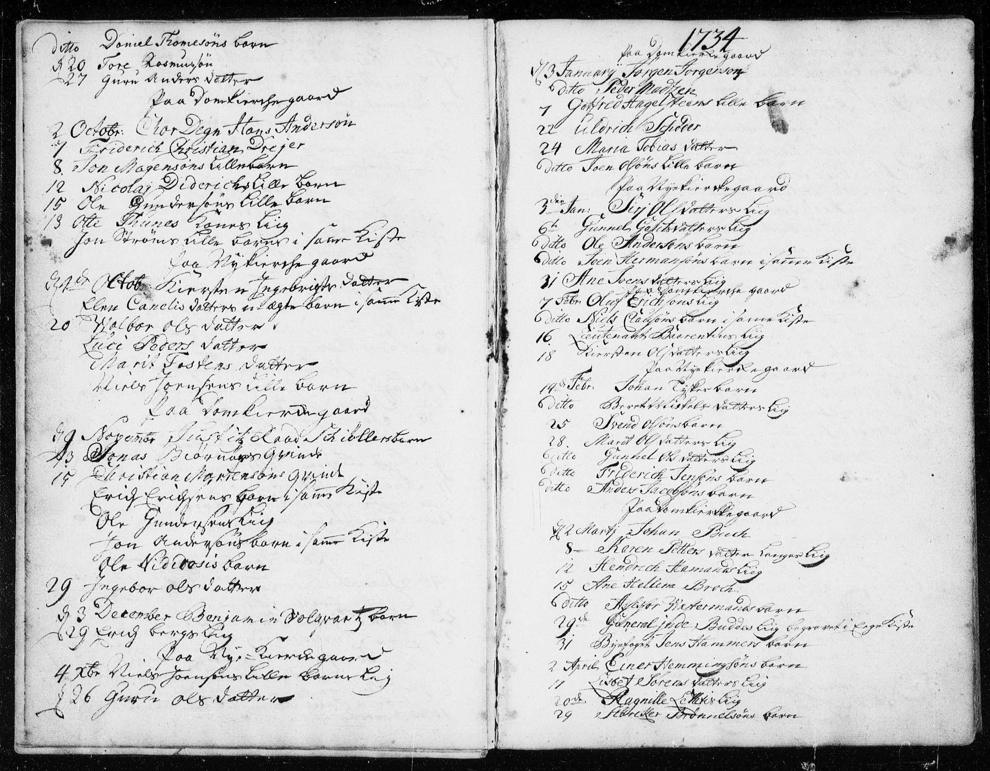 SAT, Ministerialprotokoller, klokkerbøker og fødselsregistre - Sør-Trøndelag, 601/L0037: Ministerialbok nr. 601A05, 1729-1761, s. 8