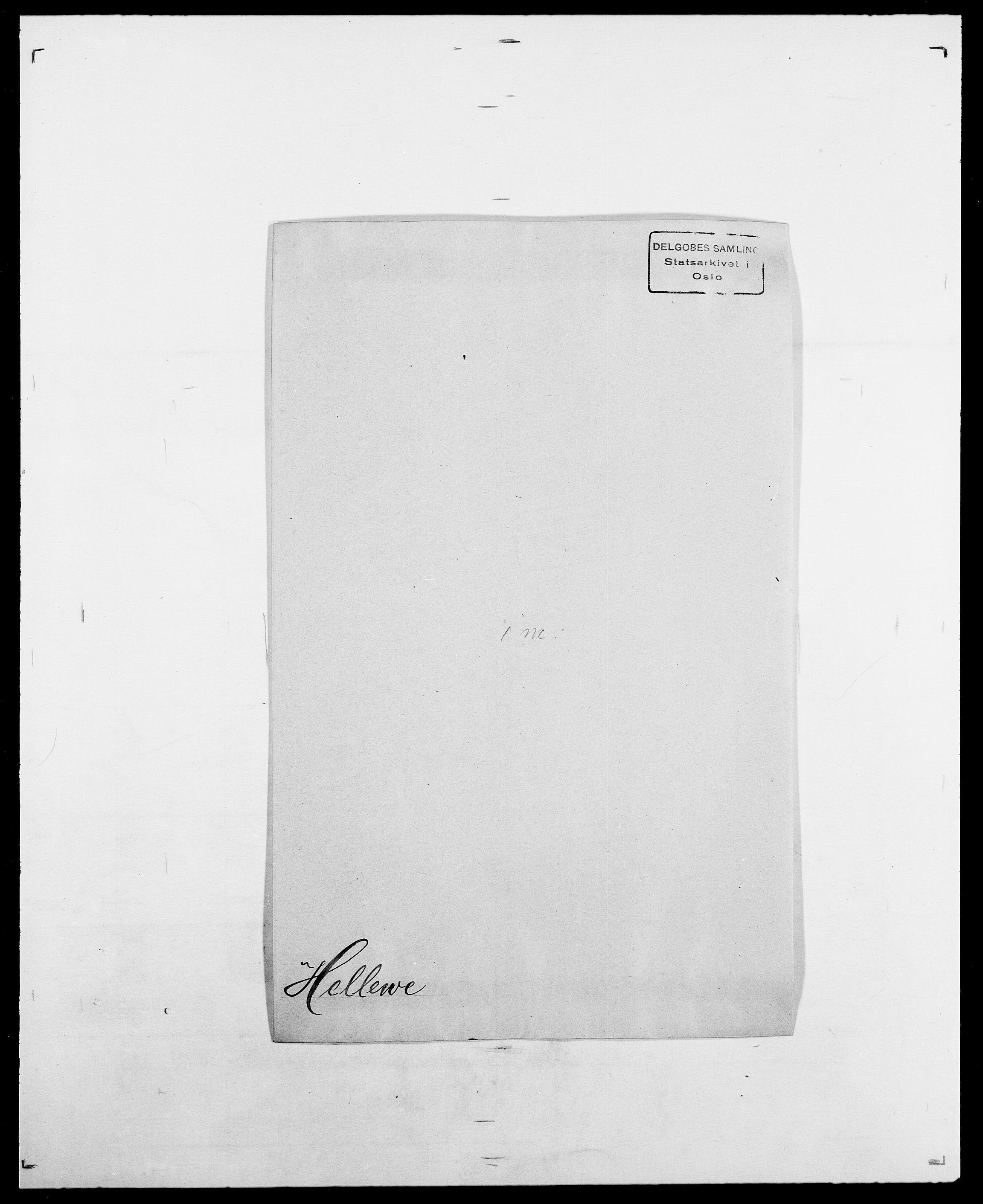 SAO, Delgobe, Charles Antoine - samling, D/Da/L0017: Helander - Hjørne, s. 78